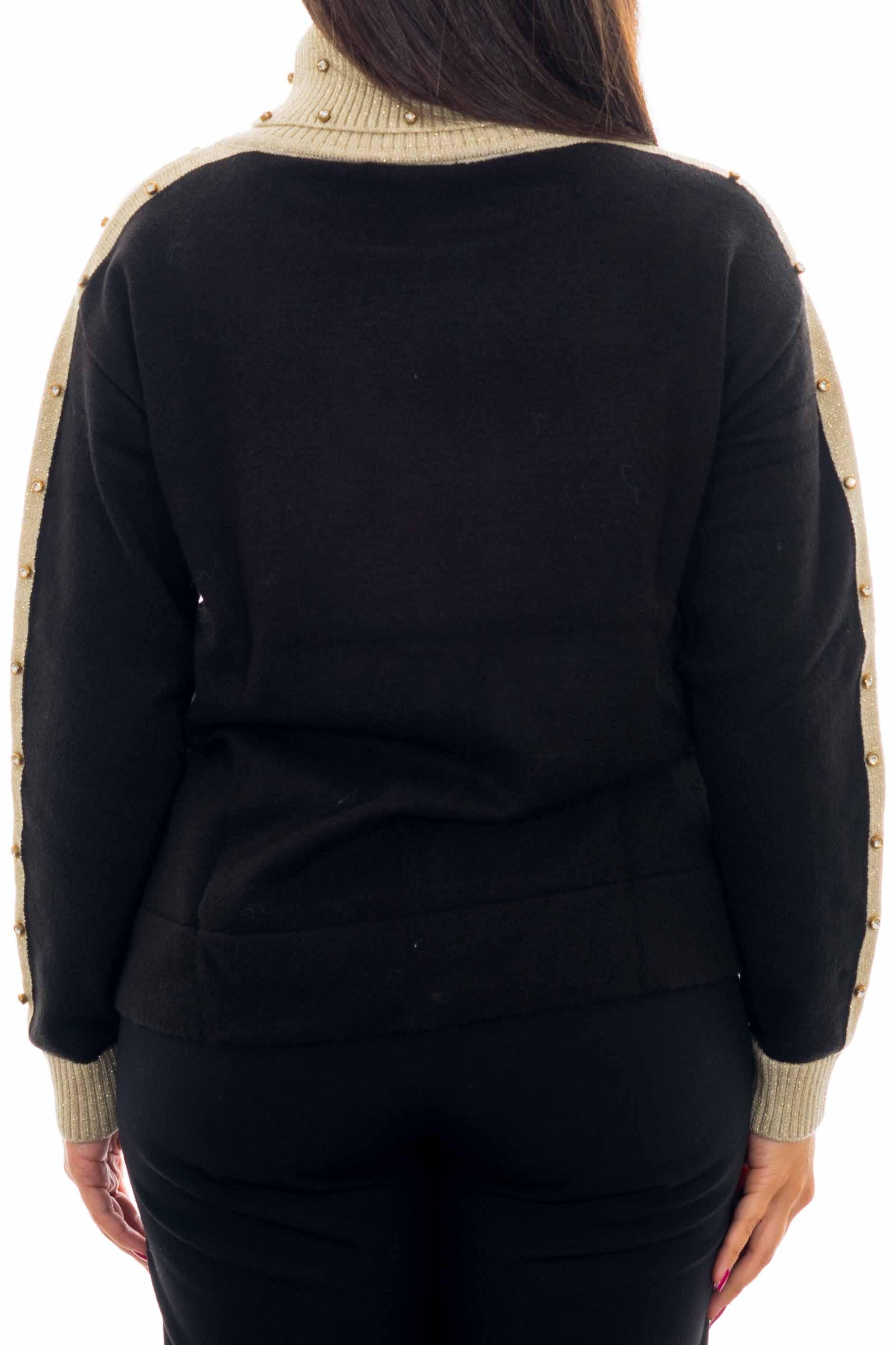 Pullover a collo alto YES-ZEE | Maglia | M053-IK000801