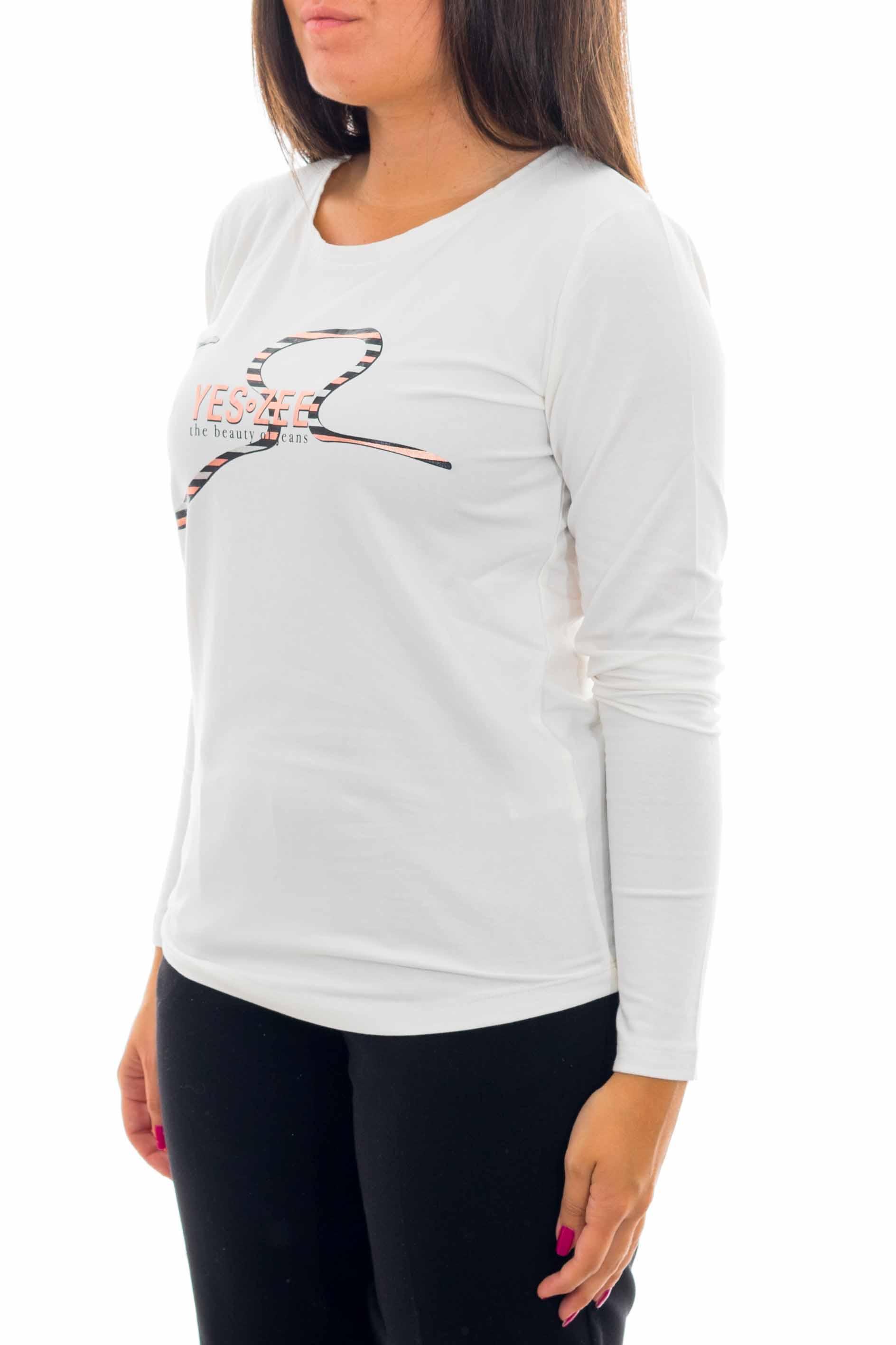 Maglia a manica lunga YES-ZEE | T-shirt | T032-S7020101