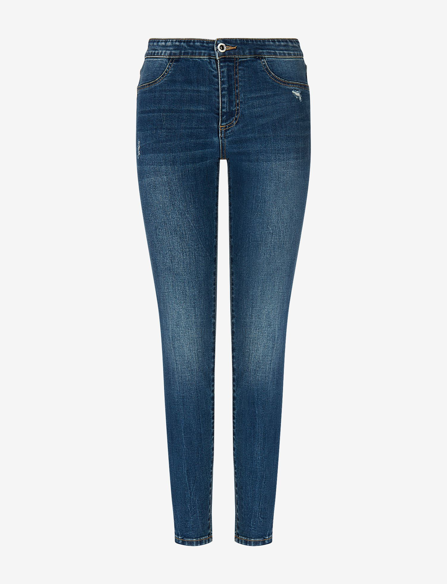 Cinque tasche in denim J12 jegging lift-up Armani Exchange ARMANI EXCHANGE   Jeans   3KYJ12-Y1EEZ1500