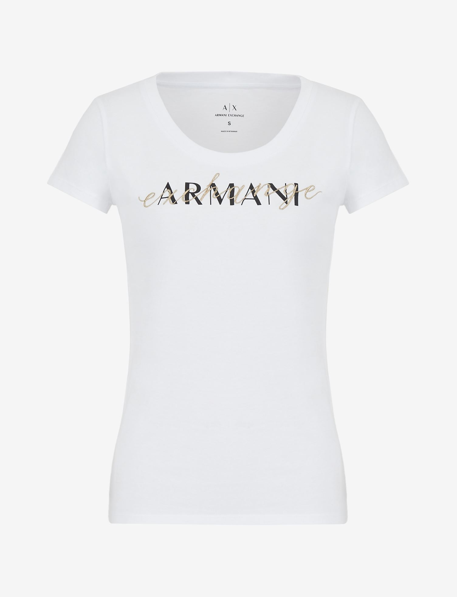 T-shirt con logo Armani Exchange  ARMANI EXCHANGE   T-shirt   3KYTGV-YJ73Z1000
