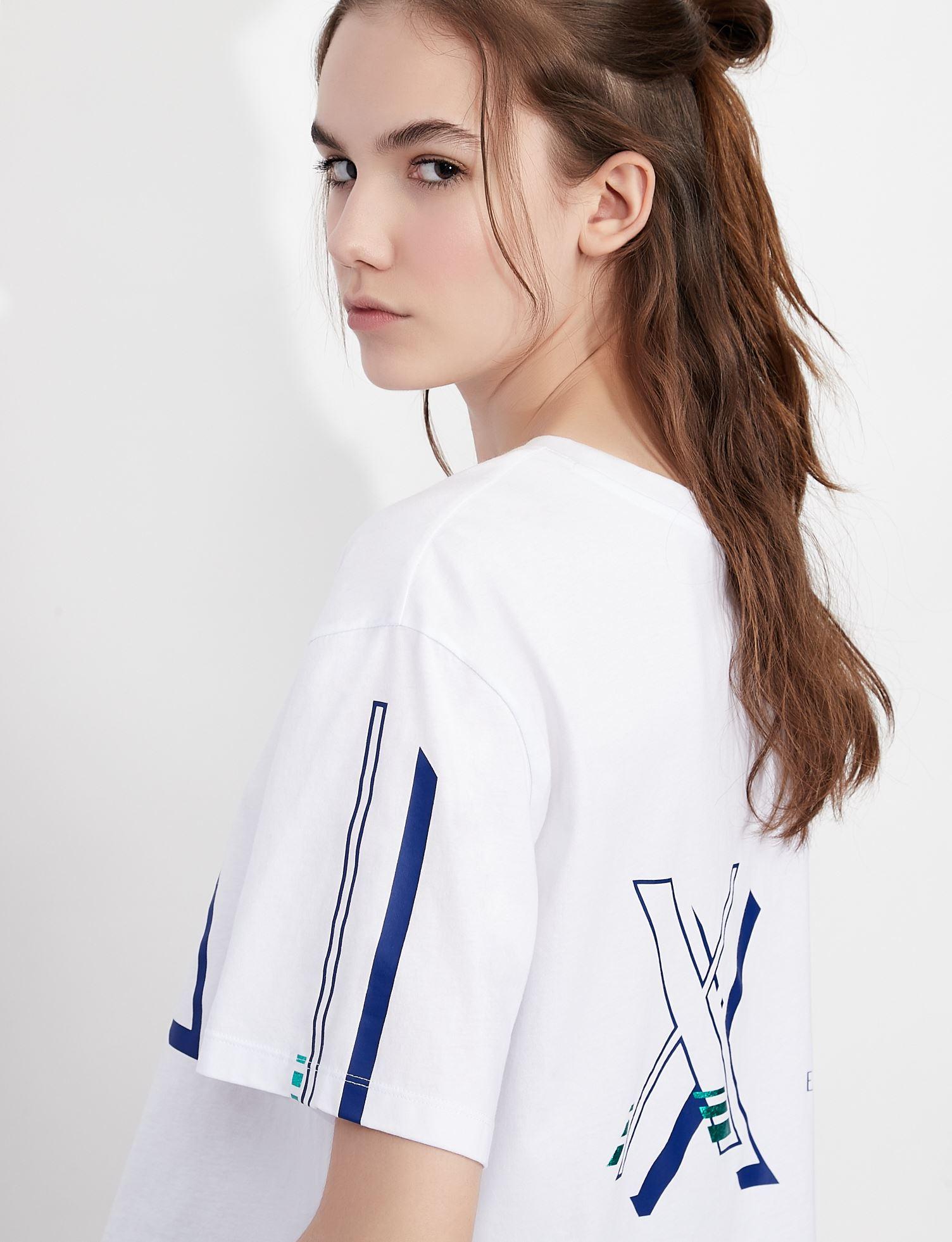 T-shirt con stampa Armani Exchange ARMANI EXCHANGE | T-shirt | 3KYTGY-YJ73Z1000