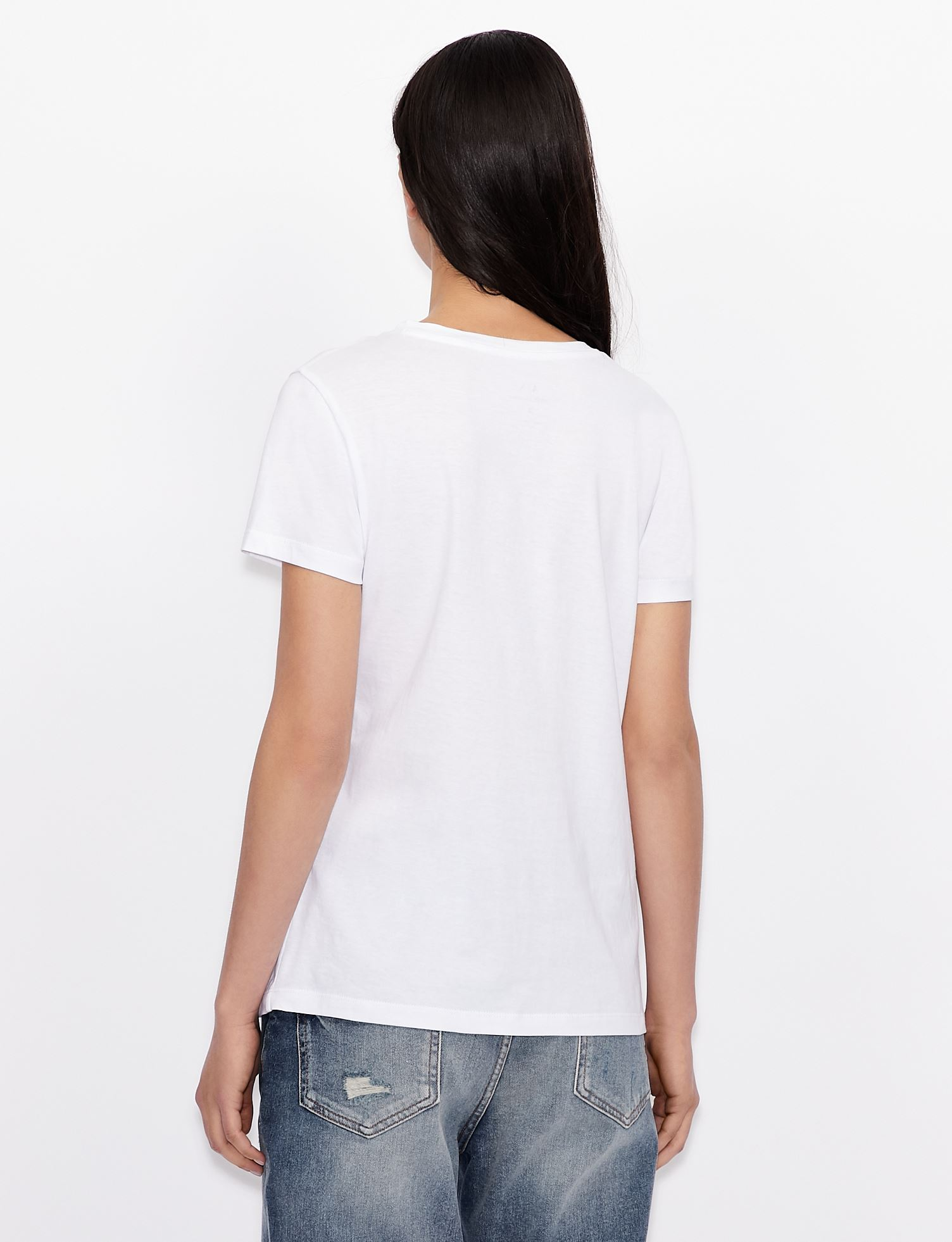T-shirt con stampa Armani Exchange ARMANI EXCHANGE | T-shirt | 3KYTKE-YJW3Z9152