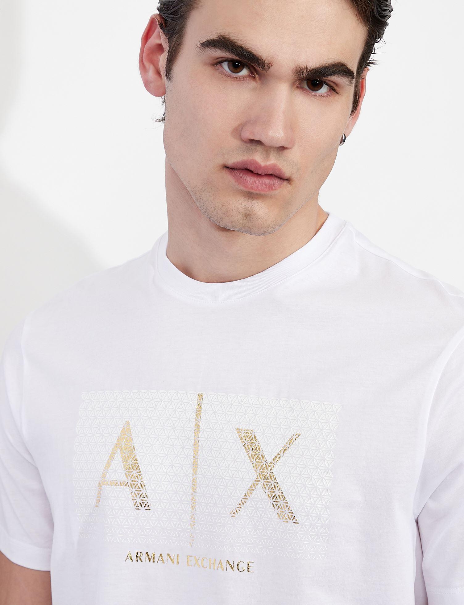 T-shirt con logo Armani Exchange ARMANI EXCHANGE   T-shirt   3KZTEA-ZJ9AZ1100