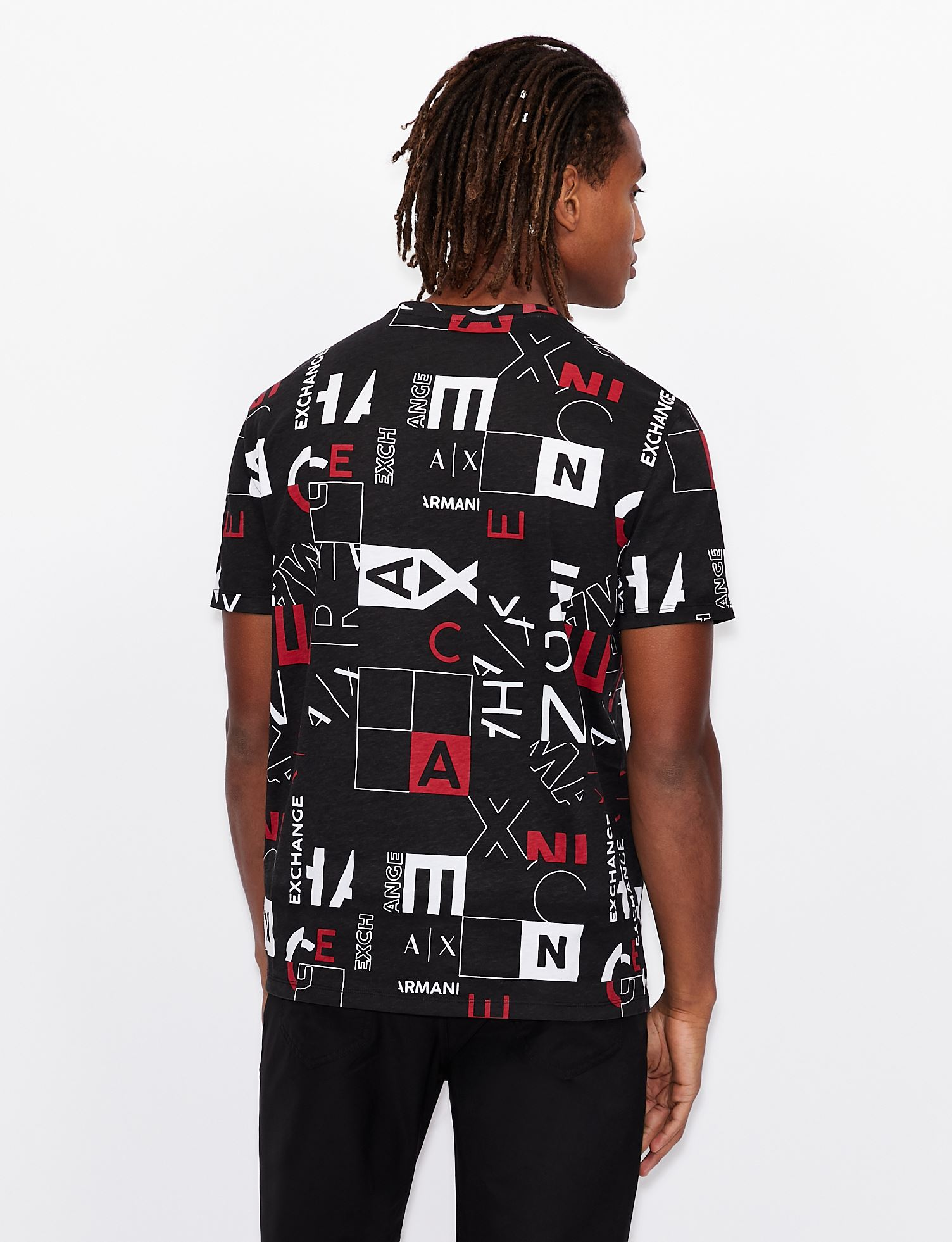 T-shirt regular fit Armani exchange ARMANI EXCHANGE   T-shirt   3KZTFC-ZJH4Z5203