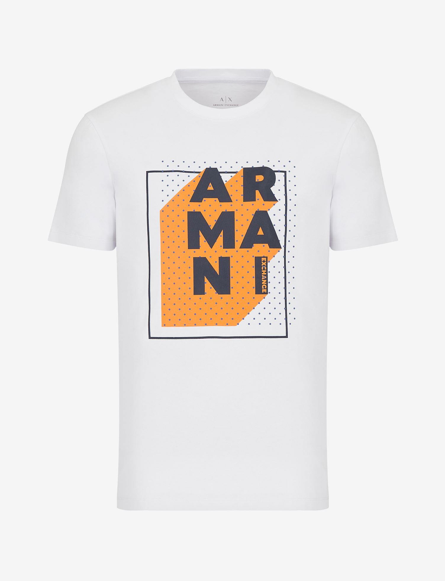 T-shirt con stampa Armani Exchange ARMANI EXCHANGE   T-shirt   3KZTNC-ZJE6Z1100