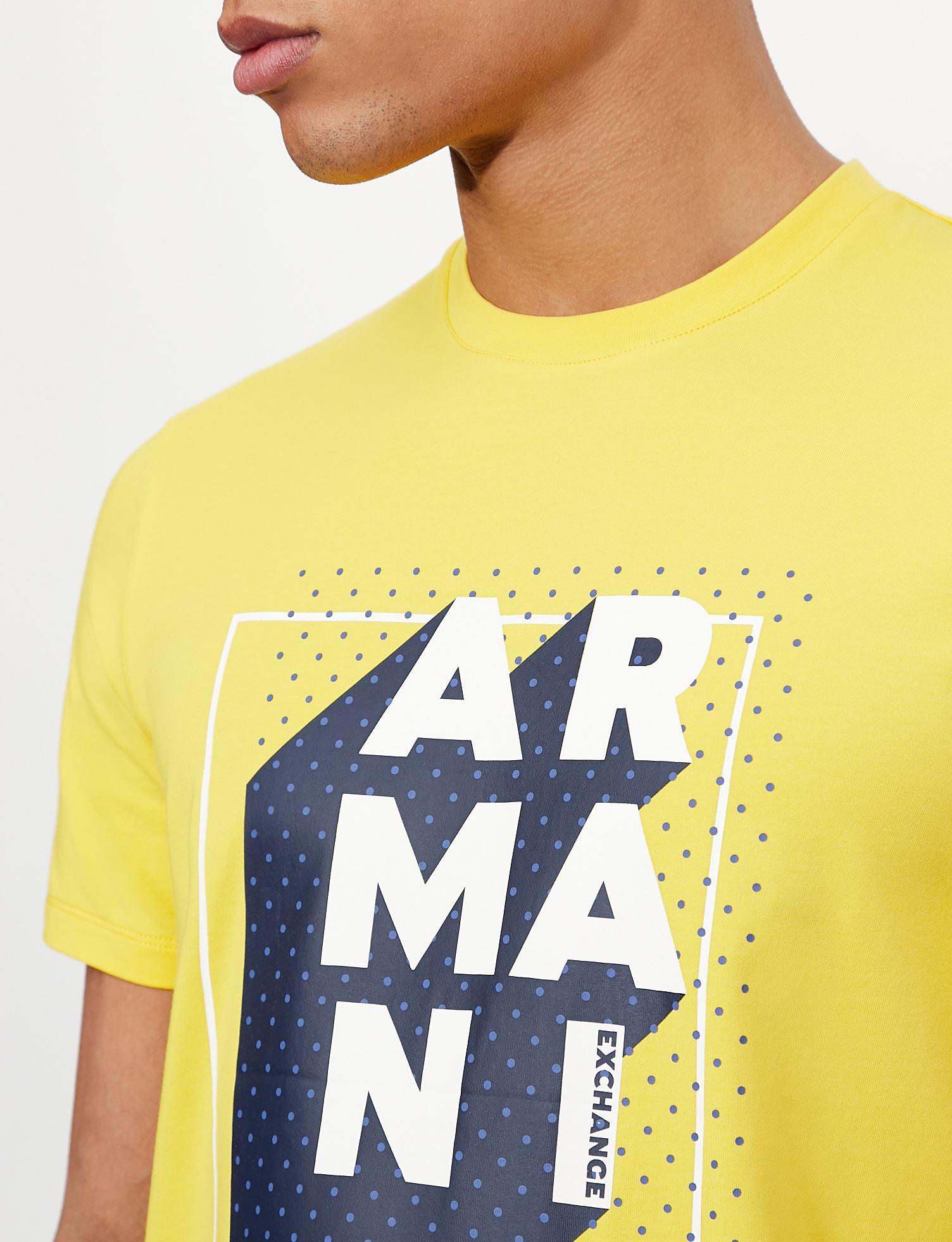 T-shirt slim fit Armani exchange ARMANI EXCHANGE   T-shirt   3KZTNC-ZJE6Z1620