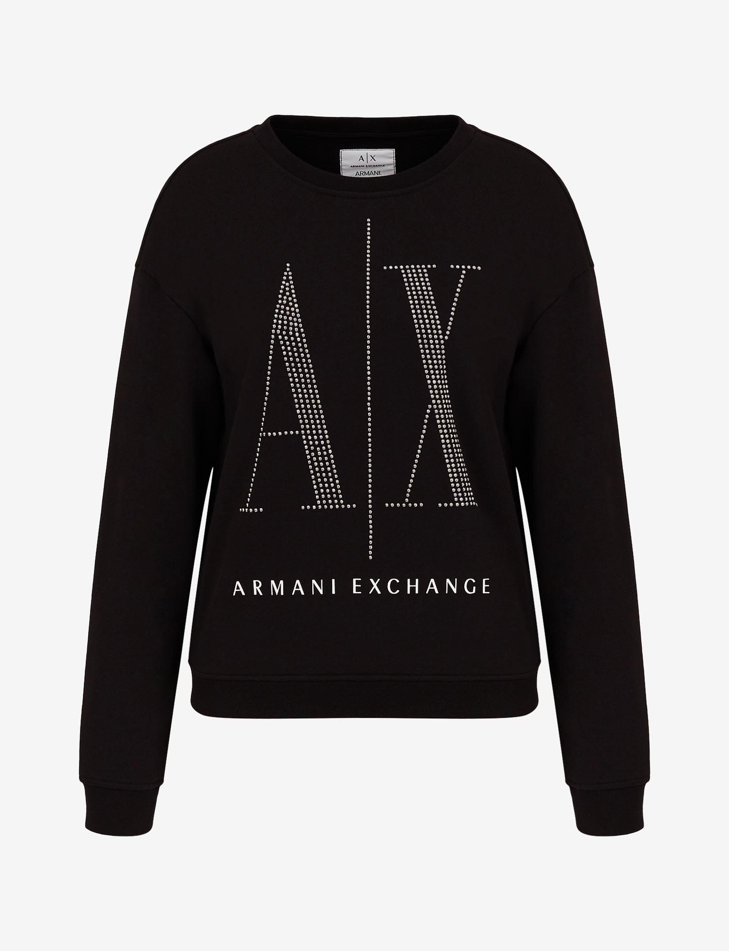 Felpa con logo Armani Exchange ARMANI EXCHANGE   Maglia   8NYM01-YJ68Z1200
