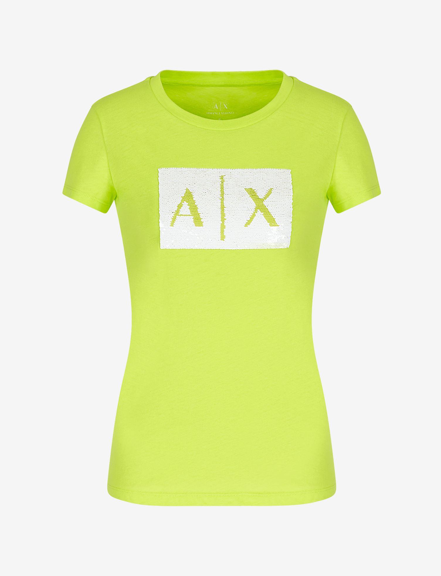 T-shirt con logo Armani Exchange ARMANI EXCHANGE | T-shirt | 8NYTDL-YJ73Z4870