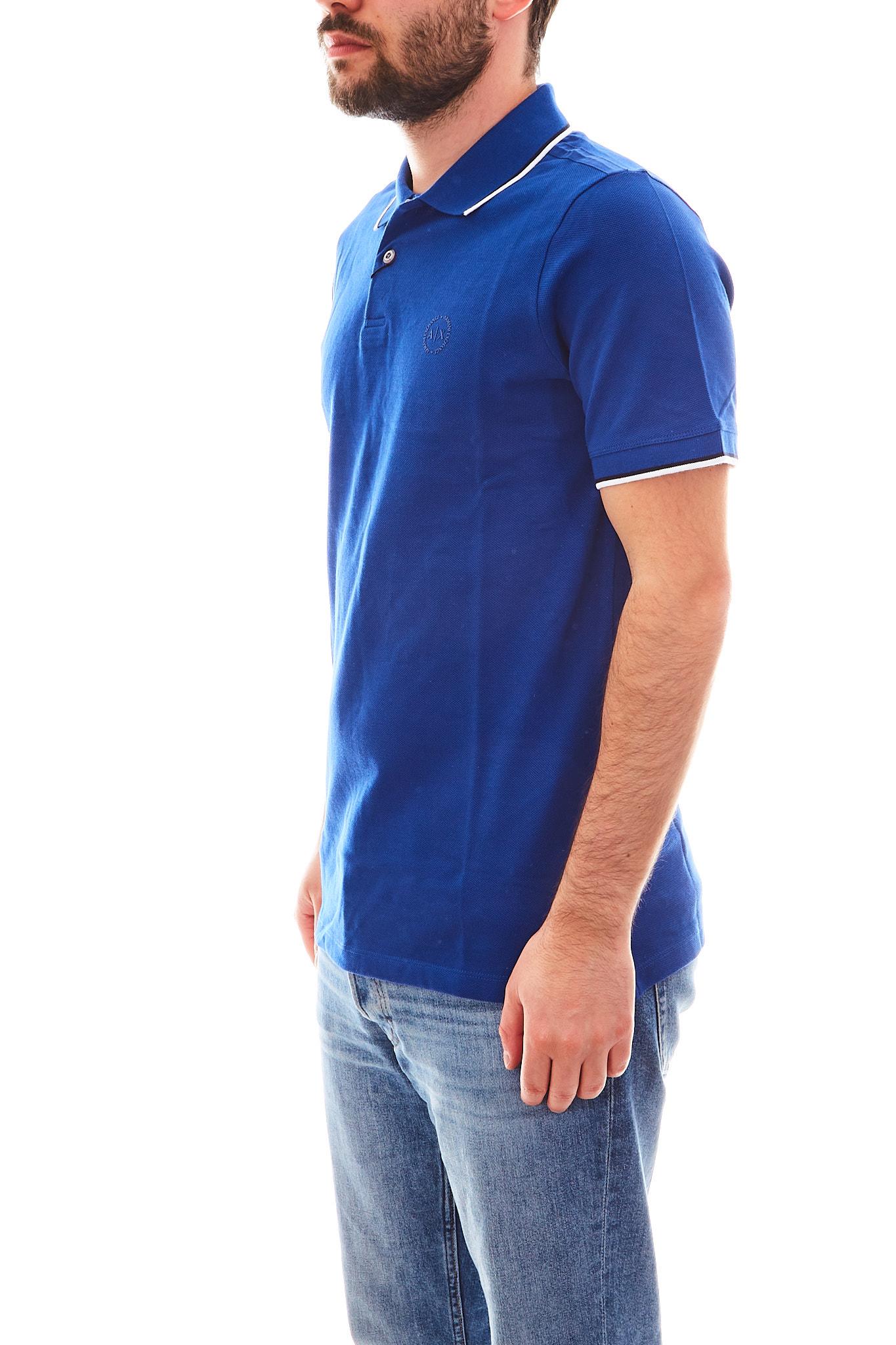 Polo con logo Armani Exchange ARMANI EXCHANGE   Polo   8NZF75-Z8M5Z1511
