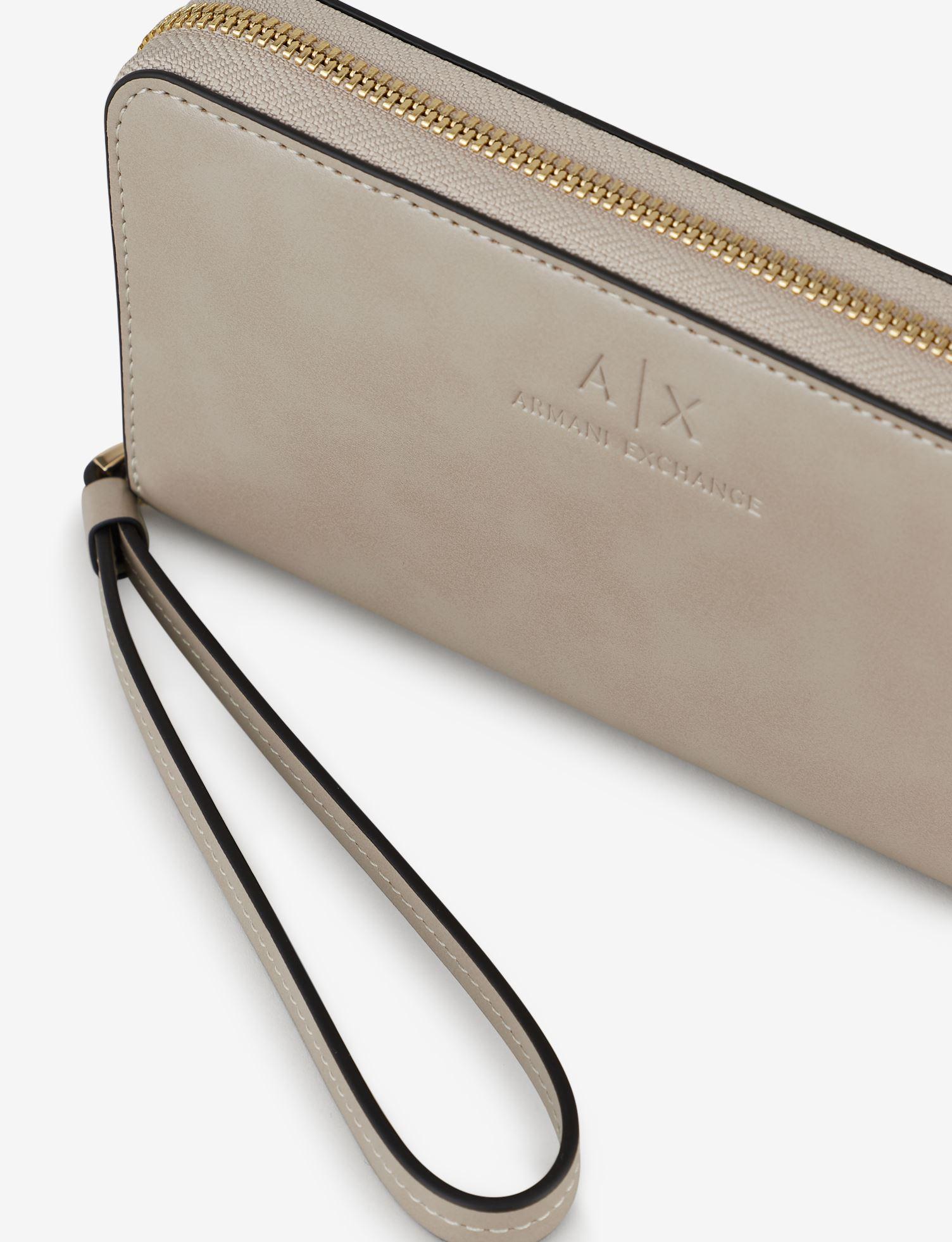 Portafoglio con zip Armani Exchange ARMANI EXCHANGE   Portacarte   948068-CC79544620