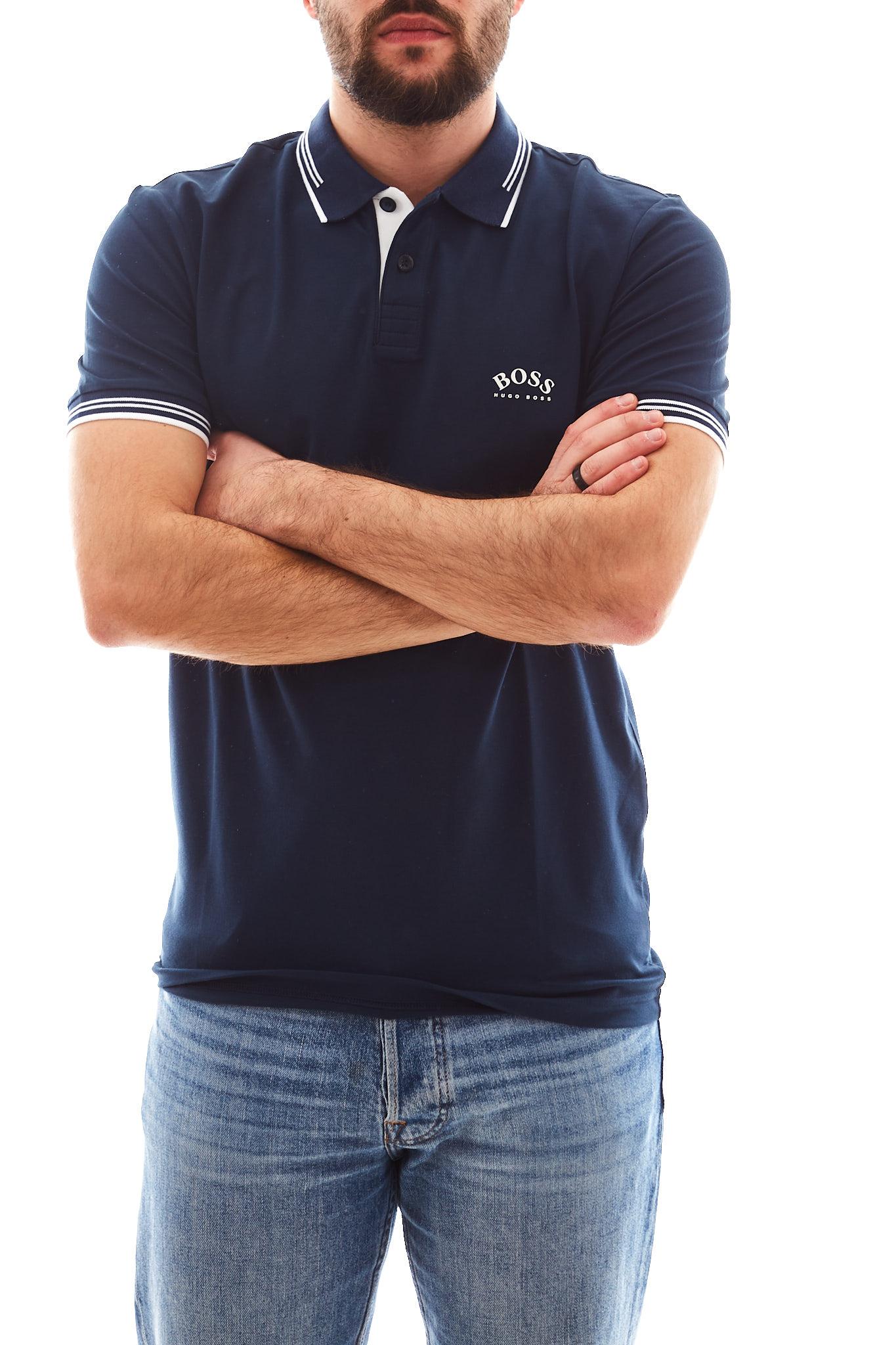 Paul Curved Boss BOSS | Polo | 50412675427