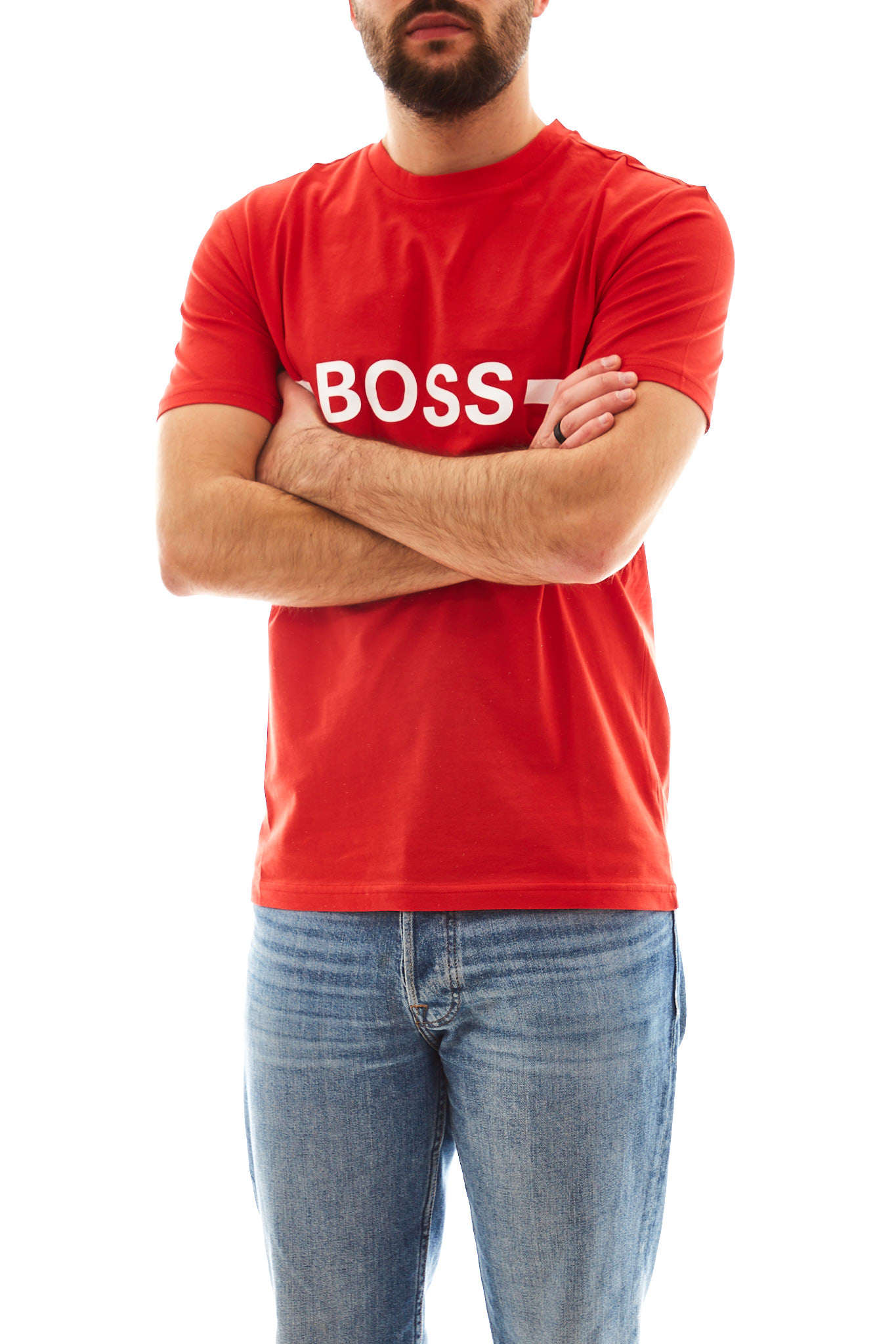 T-Shirt RN Slim Fit Boss BOSS | T-shirt | 50437367628