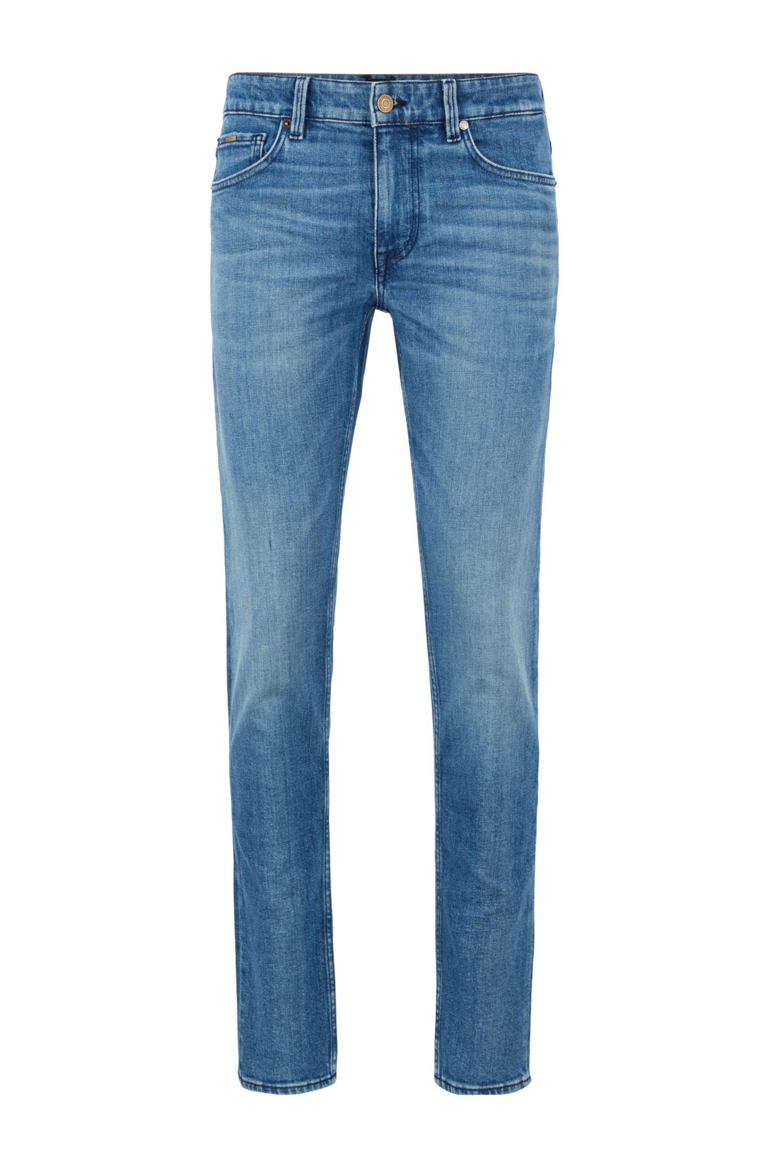 Boss Charleston4+Jeans extra slim fit in comodo denim elasticizzato blu BOSS | Jeans | 50449628433