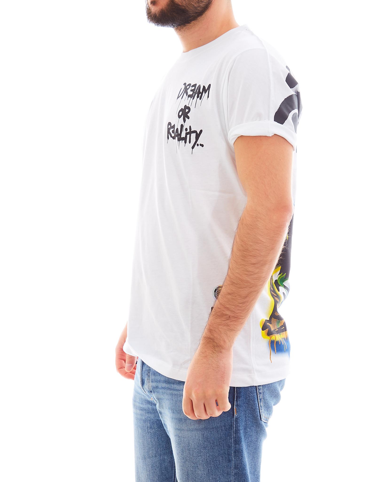 T-shirt DISCLAIMER | Maglia | EDS50587BIANCO