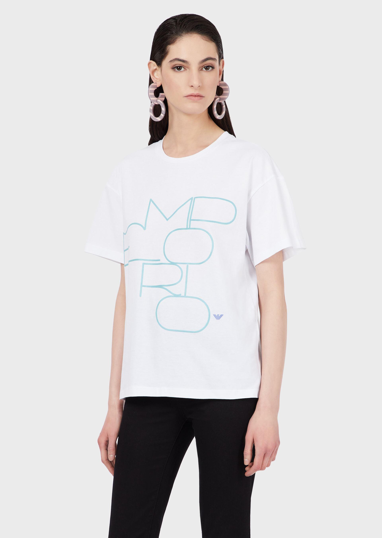 T-shirt EMPORIO ARMANI | T-shirt | 3K2T7G-2J53Z0100