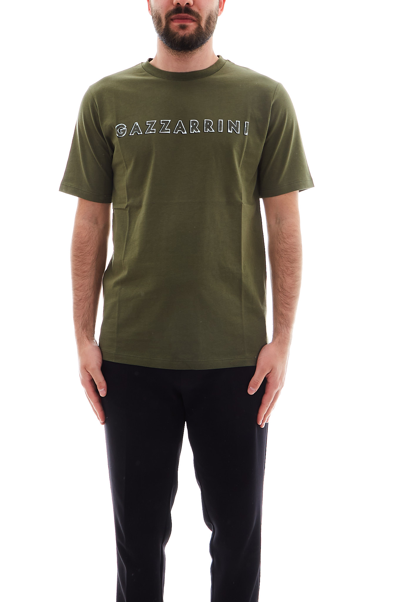 T-shirt Gazzarrini GAZZARRINI | T-shirt | TE22GVERDE MILITARE