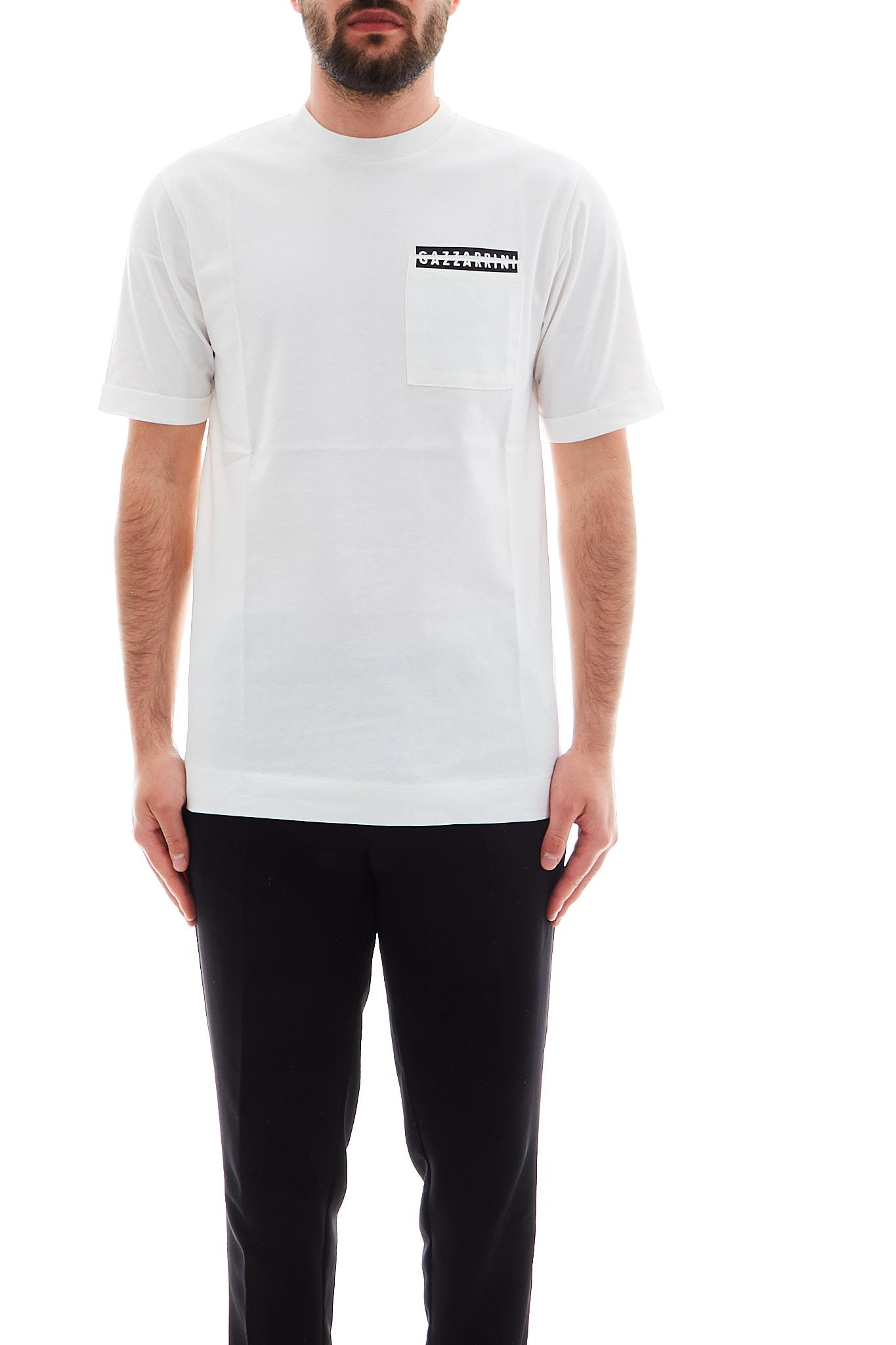 T-shirt Gazzarrini GAZZARRINI   T-shirt   TE24GOFF WHITE