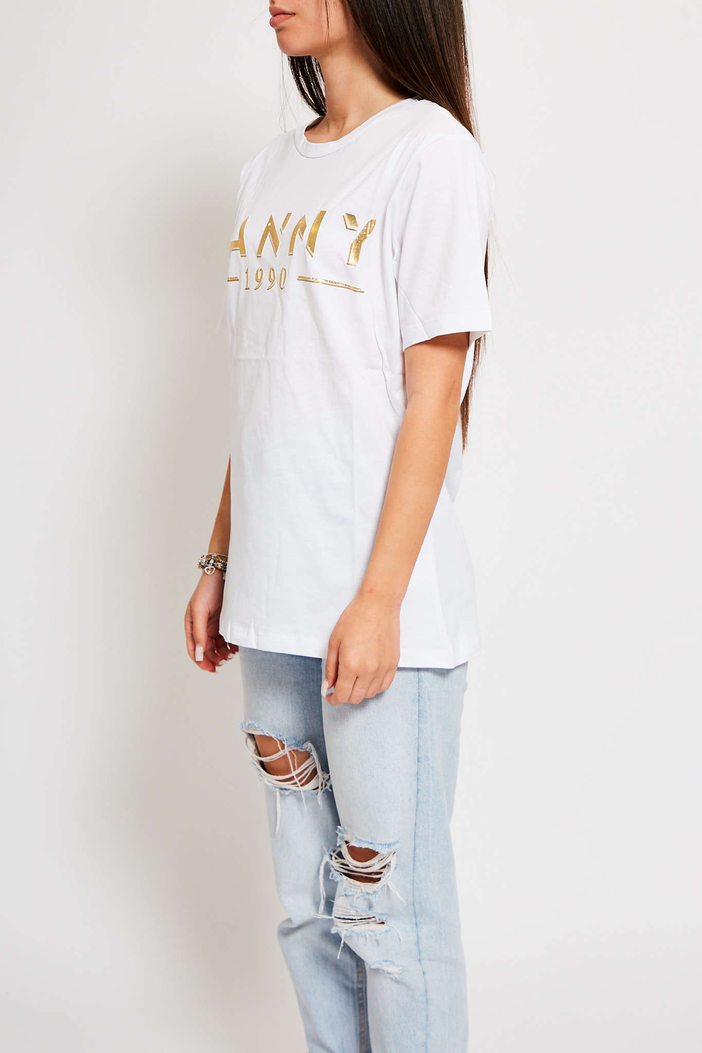 T-shirt Hanny Deep HANNY DEEP   T-shirt   5146OFF WHITE