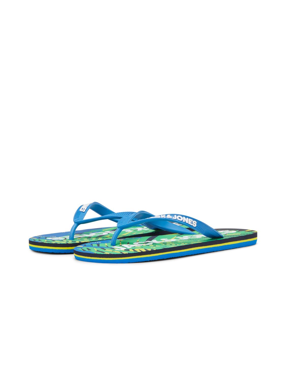 JFWPRINT TROPICAL PACK FLIP FLOP JACK&JONES | Scarpe | 12169420MAJOLICA BLUE