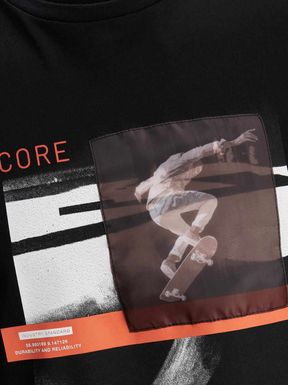 T-shirt Jcothrough JACK&JONES   T-shirt   12185098BLACK