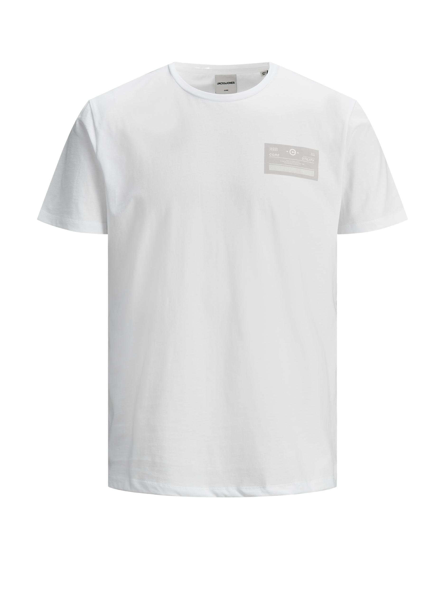 T-shirt Jcothrough JACK&JONES   T-shirt   12185098WHITE