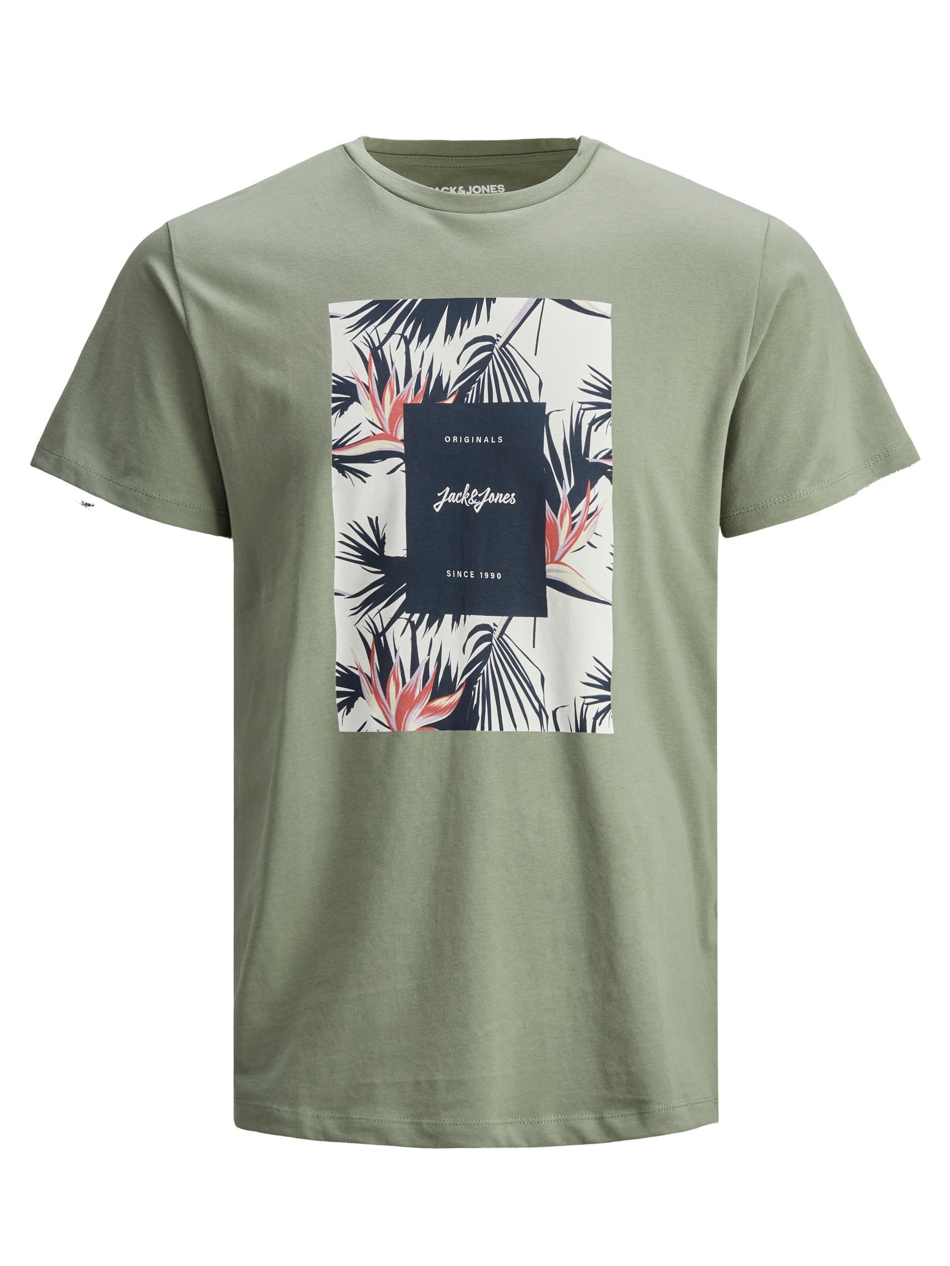 Jack&Jones Jorflorall Print T-shirt JACK&JONES   T-shirt   12186330SEA SPRAY