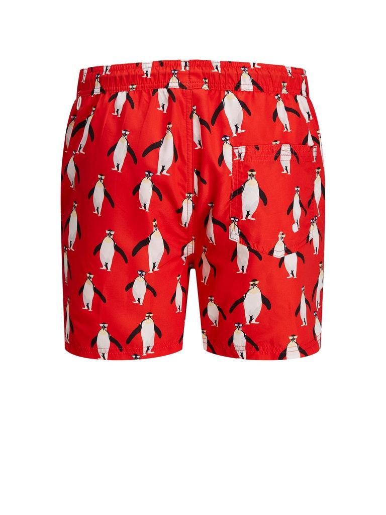Bali swimshorts Jack and Jones JACK&JONES   Shorts   12186944FLAME SCARLET