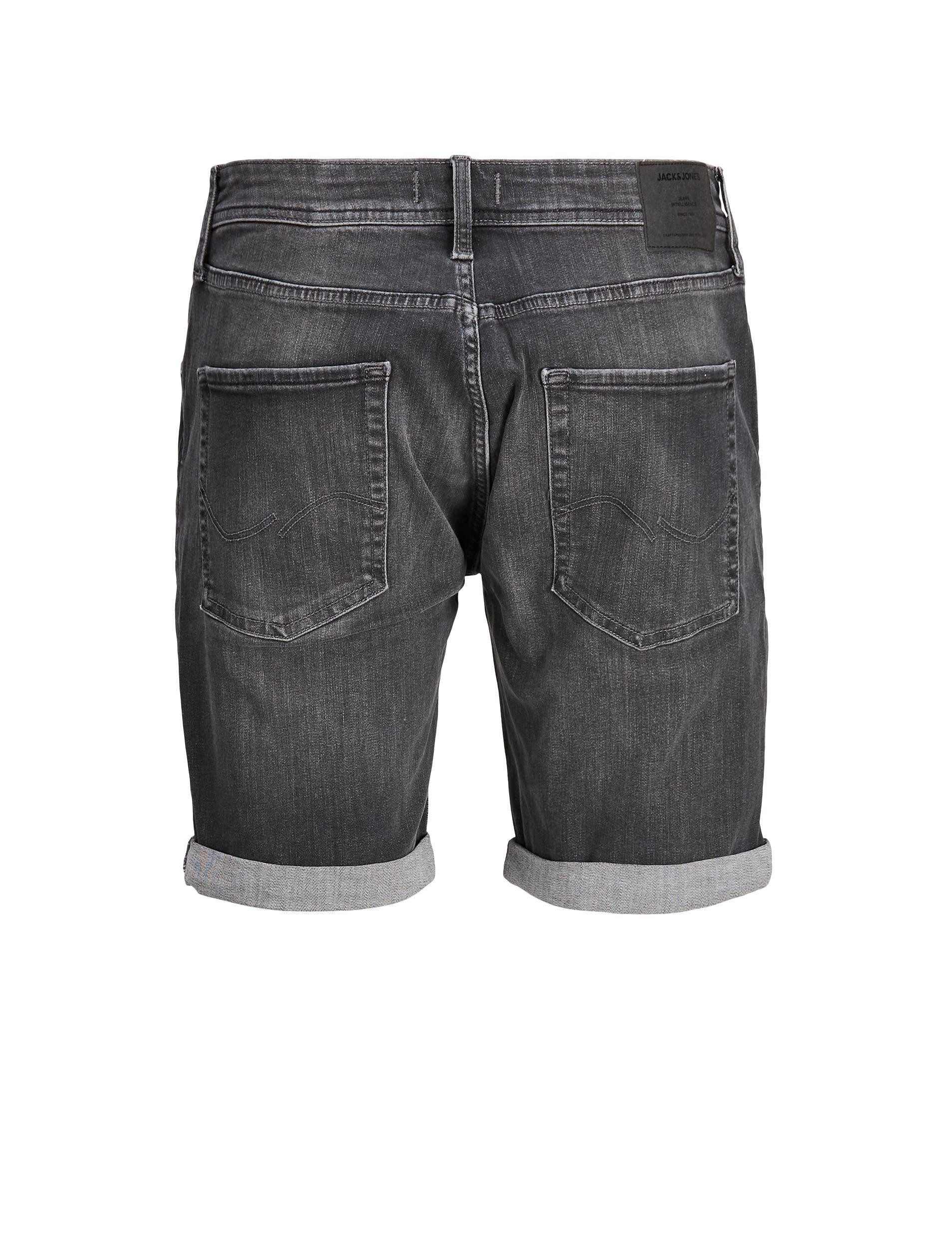 JJIRICK JJORIGINAL SHORTS AGI 200 JACK&JONES   Shorts   12187577BLACK DENIM