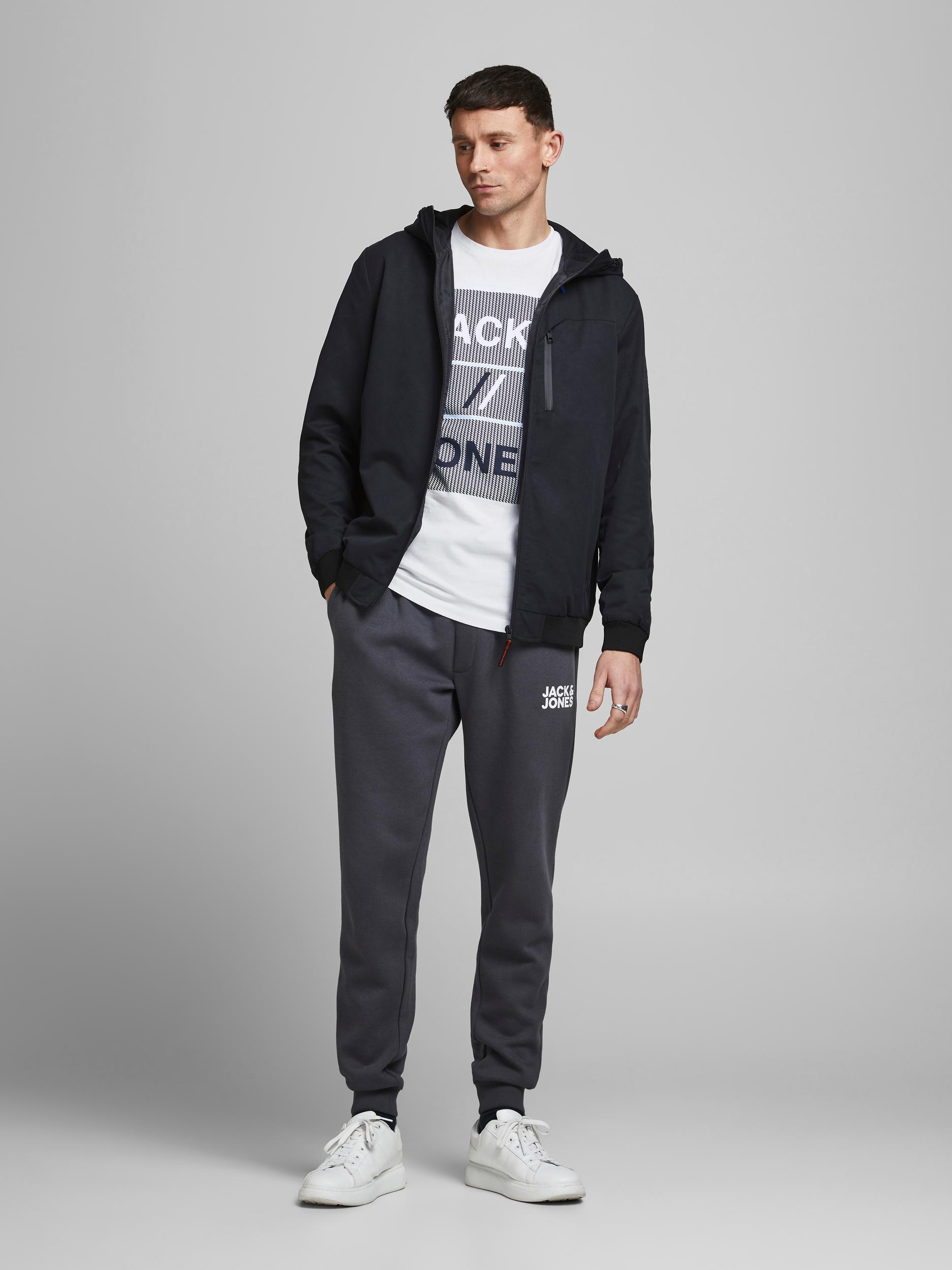Corojar tee ss T-shirt JACK&JONES   T-shirt   12188039WHITE