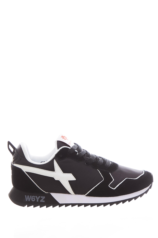 Sneaker in tessuto e pelle W6yz JUST SAY WIZZ | Scarpe | JET-MBLACK/WHITE