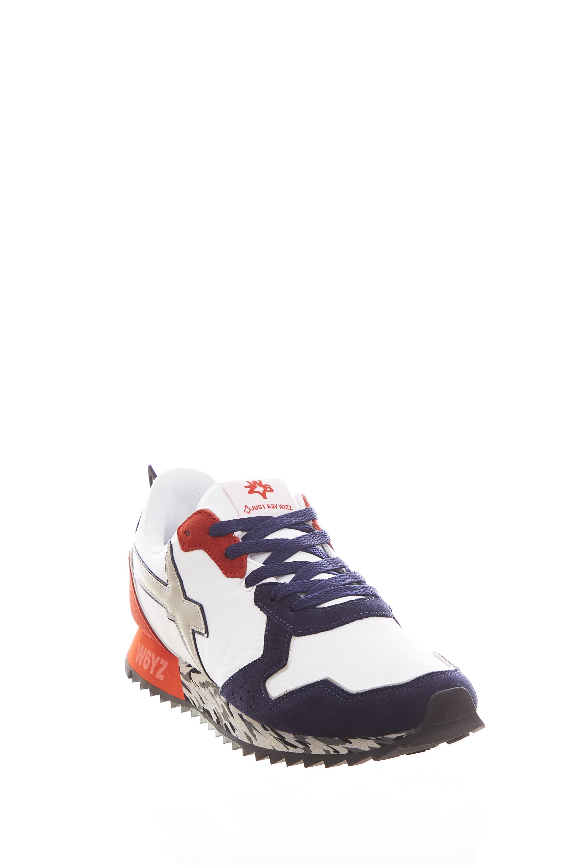 Sneaker in tessuto e pelle W6yz JUST SAY WIZZ | Scarpe | JET-MMULTI WHITE/NAVY