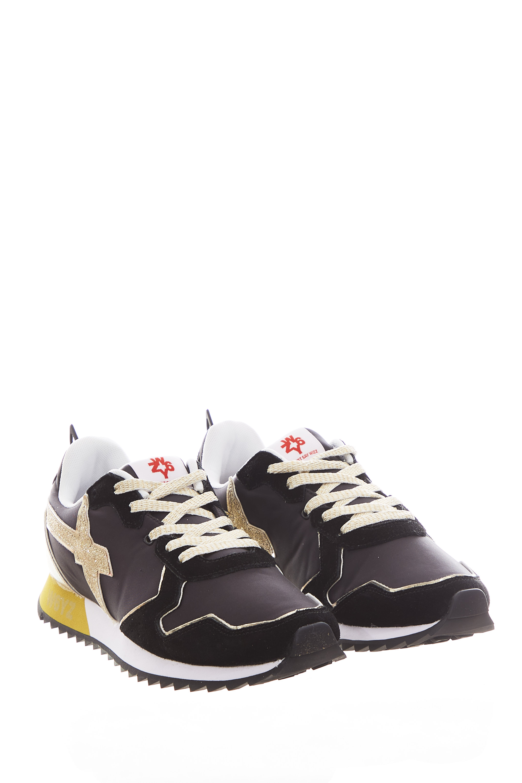 Sneaker in tessuto e pelle W6yz JUST SAY WIZZ | Scarpe | JET-WBLACK/PLATINUM