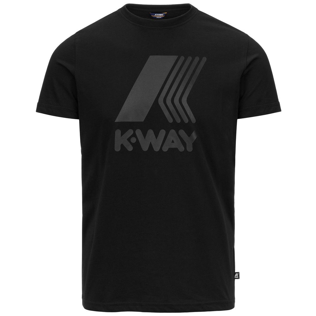 T-shirt K-way Elliot Logo K-WAY   T-shirt   K009PR0-ELLIOT LOGOUSY