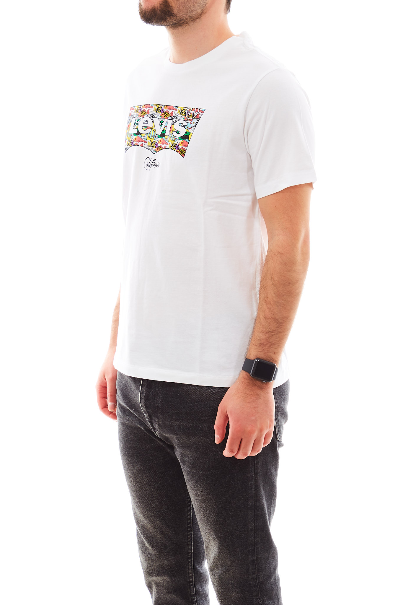 T-shirt con logo pattern LEVI'S   T-shirt   224890318