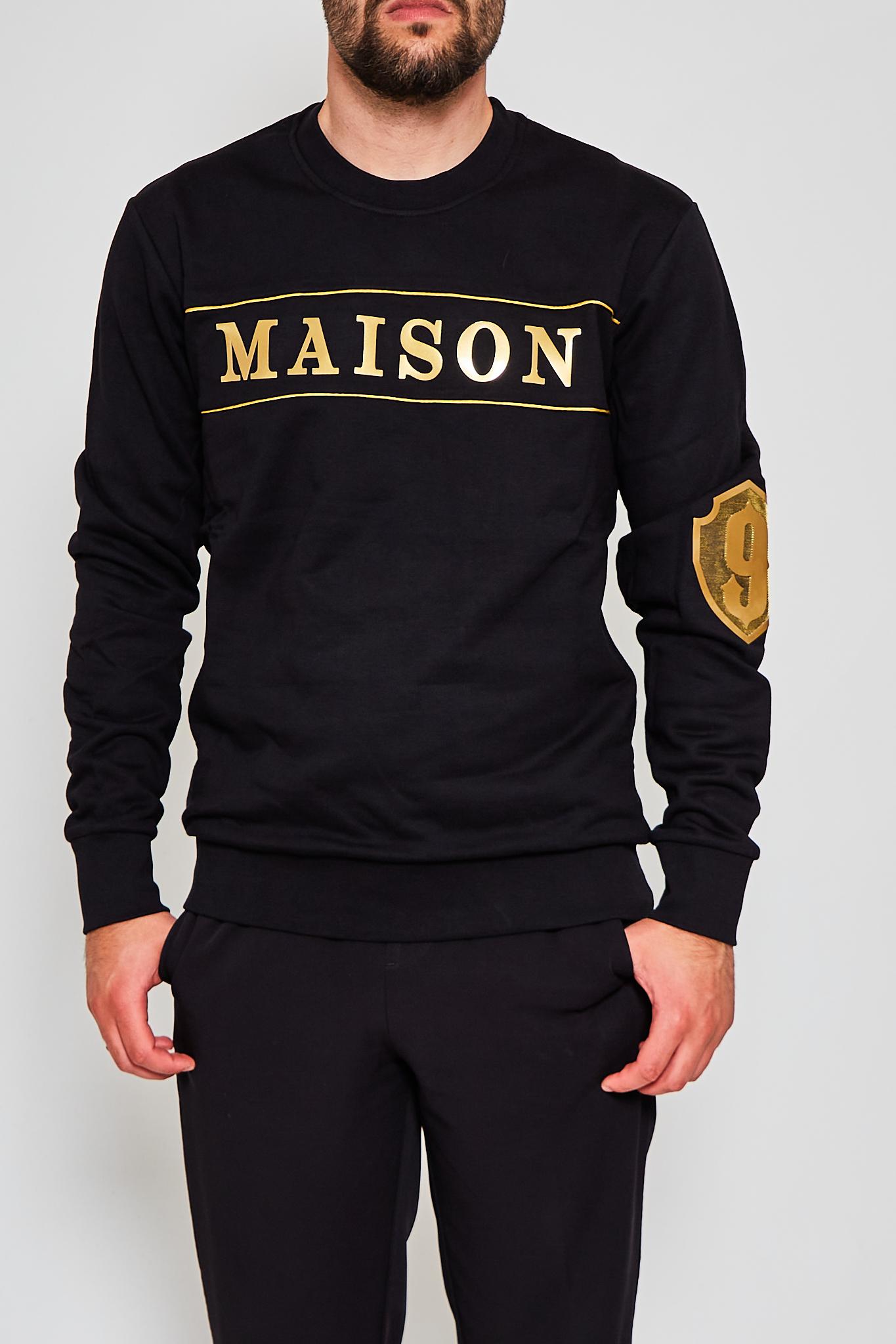 Felpa Maison 9 Paris MAISON 9 PARIS | Felpa | F2113NERO