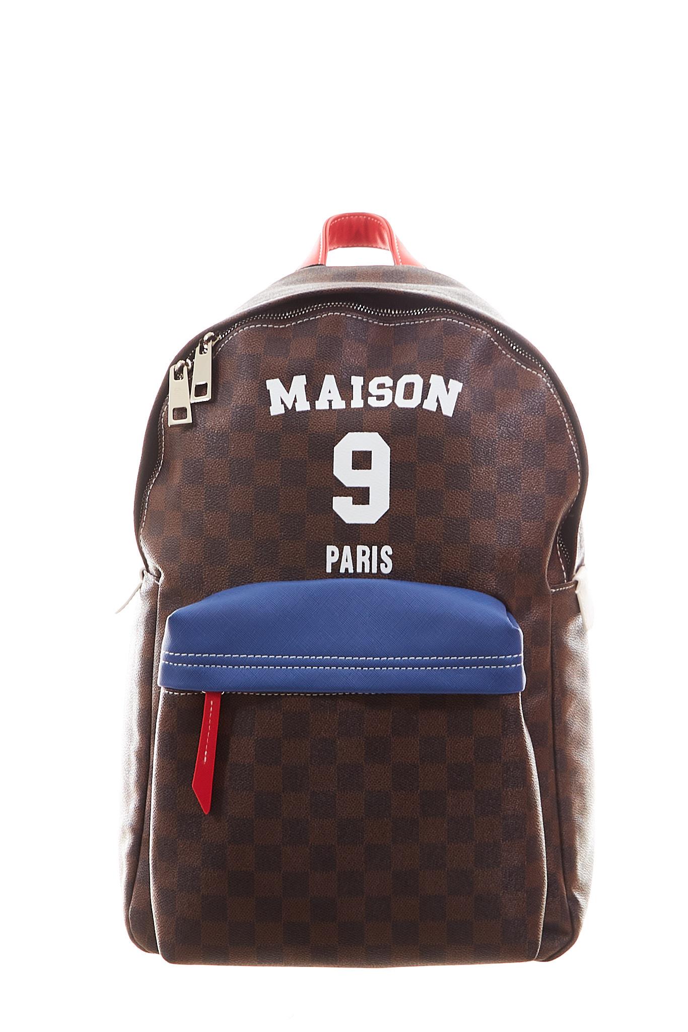 Zaino Philippe Maison 9 Paris MAISON 9 PARIS | Zaino | PHILIPPEBROWN