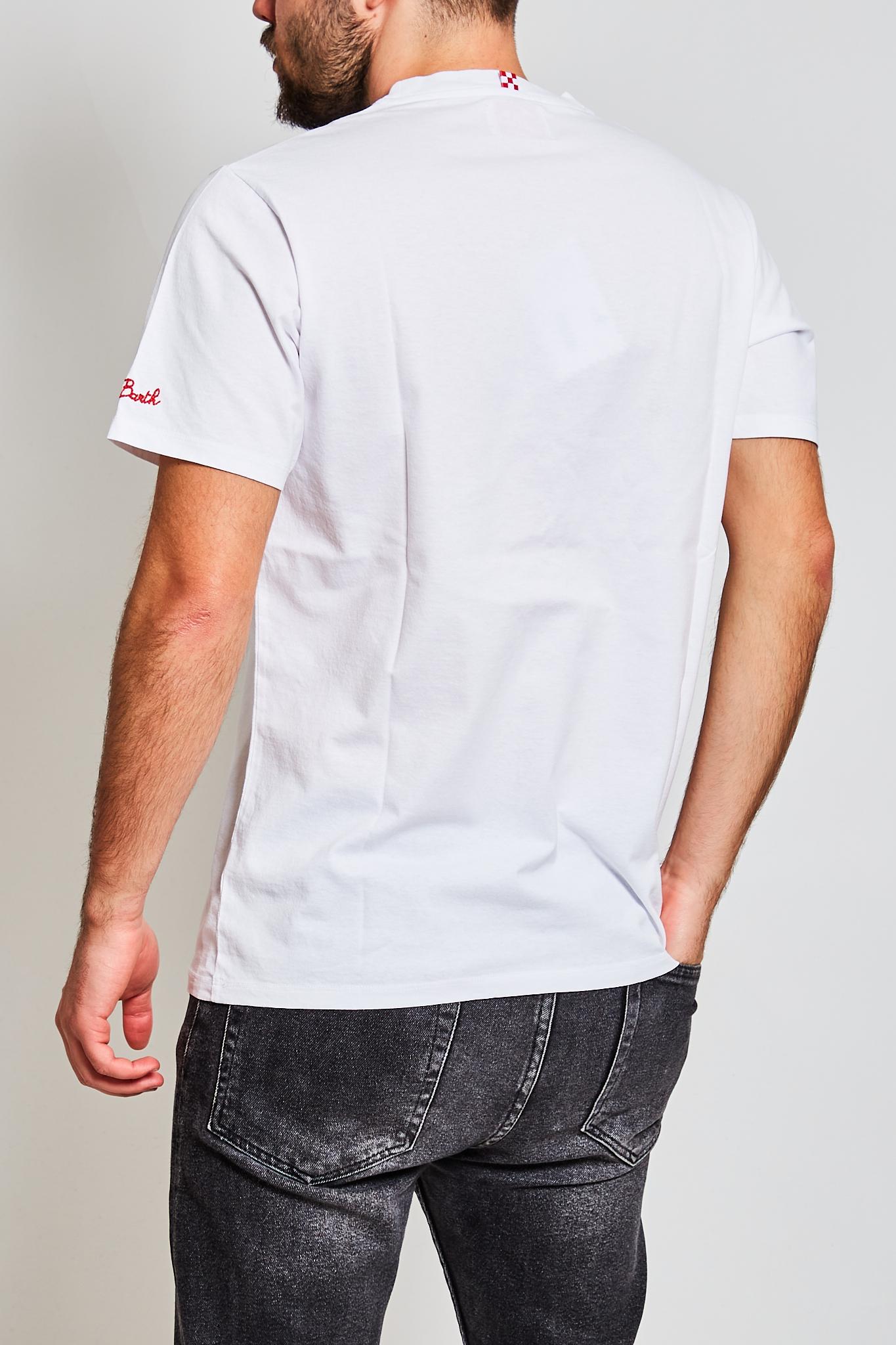 T-shirt MC2 Saint Barth Habituè MC2 SAINT BARTH | T-shirt | PORTOFINOEBSH1N