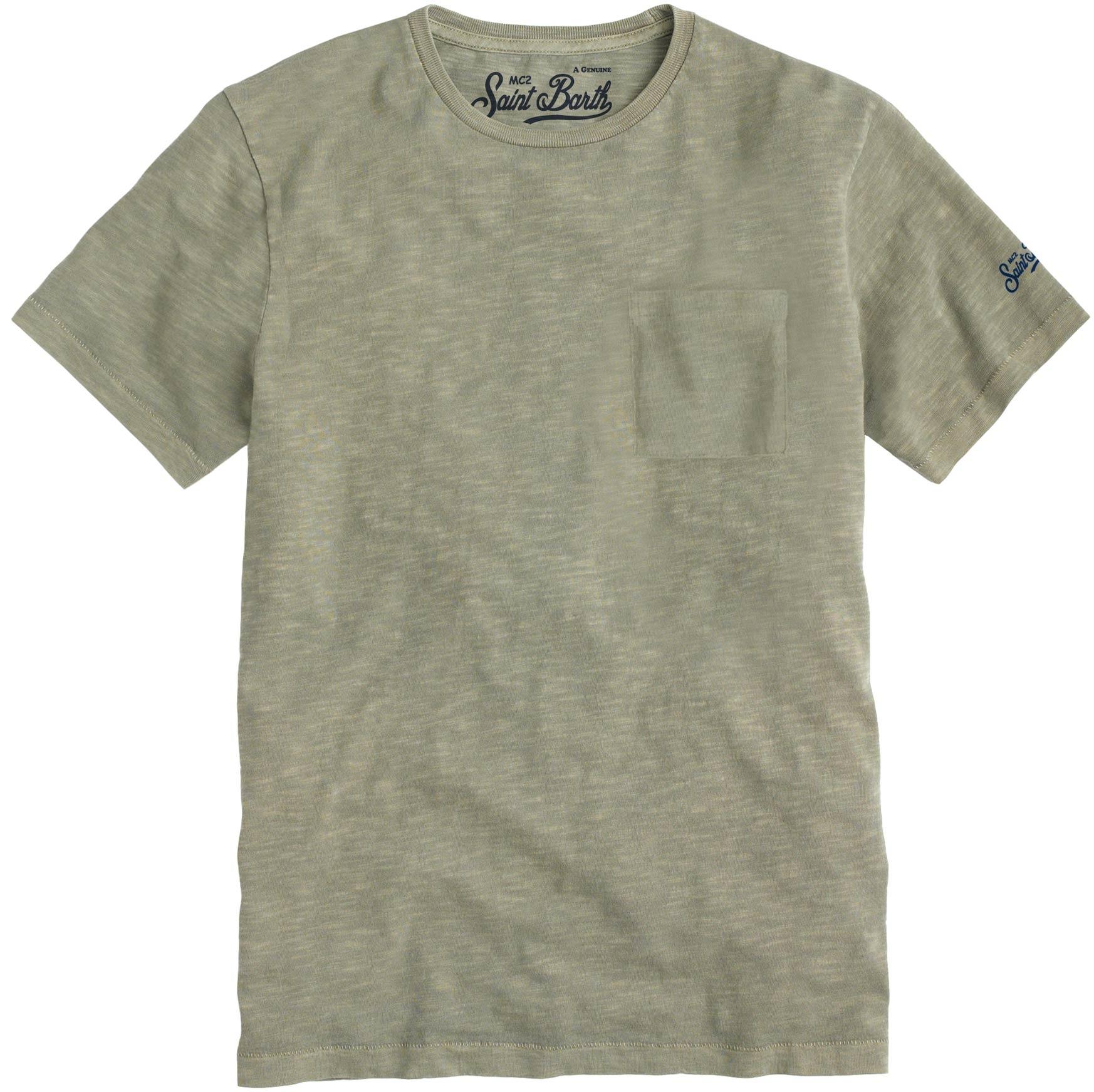T-shirt MC2 Saint Barth con taschino MC2 SAINT BARTH | T-shirt | PRESIDENT52