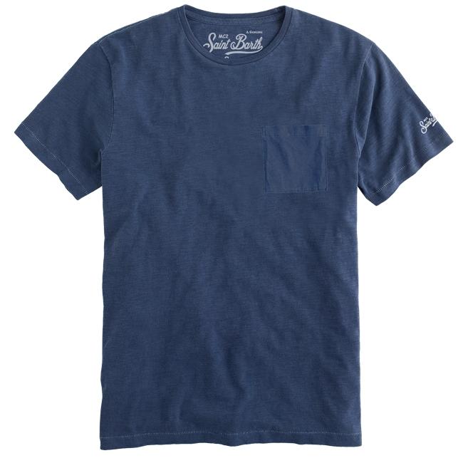 T-shirt MC2 Saint Barth con taschino MC2 SAINT BARTH | T-shirt | PRESIDENT61