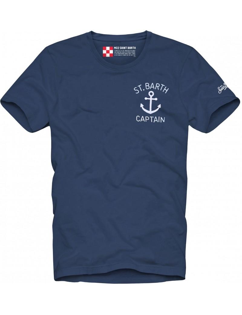 T-shirt MC2 Saint Barth con taschino MC2 SAINT BARTH | T-shirt | TSHIRT MANESCA61