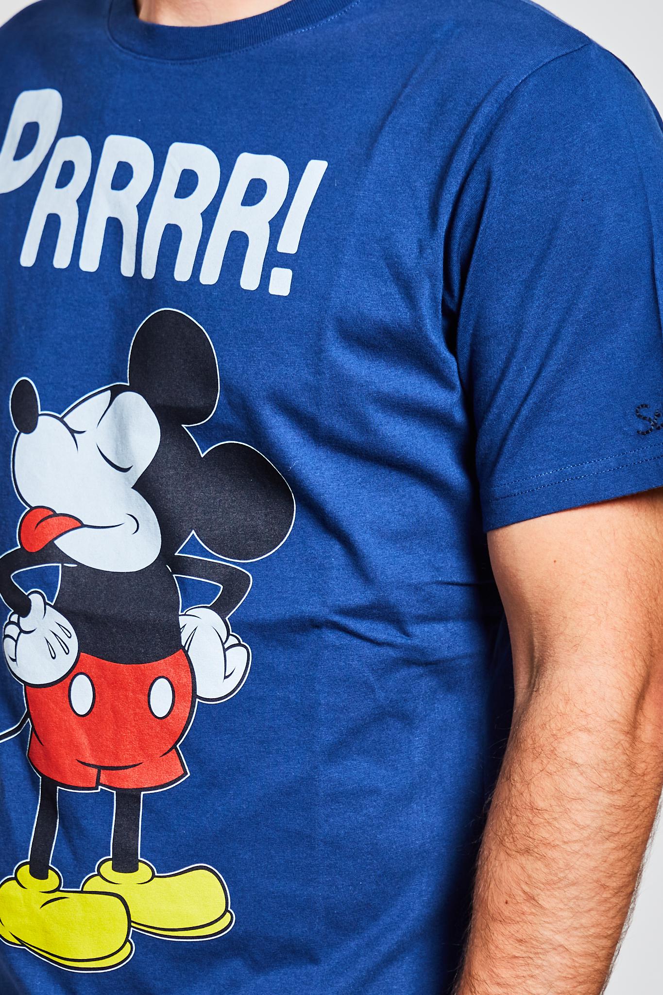 T-shirt MC2 Saint Barth Mickey mouse MC2 SAINT BARTH   T-shirt   TSHIRT MANMKYPD7
