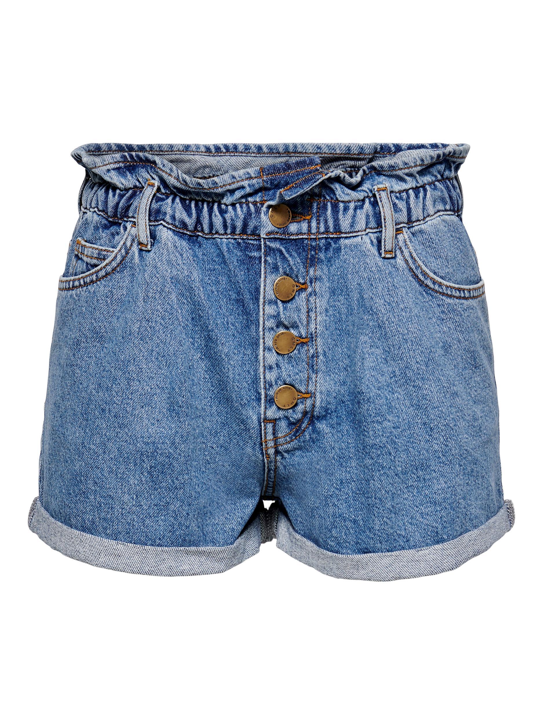 ONLCUBA LIFE PAPERBAG DNM SHORTS NOOS ONLY | Shorts | 15200196MEDIUM BLUE DENIM