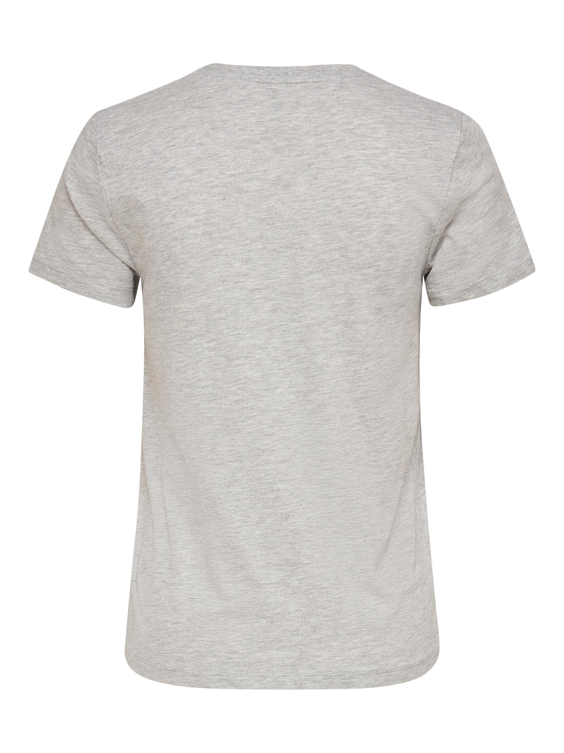 ONLKITA LIFE REG S/S PIN BOX TOP JRS ONLY | T-shirt | 15226044LIGHT GREY MELANGE