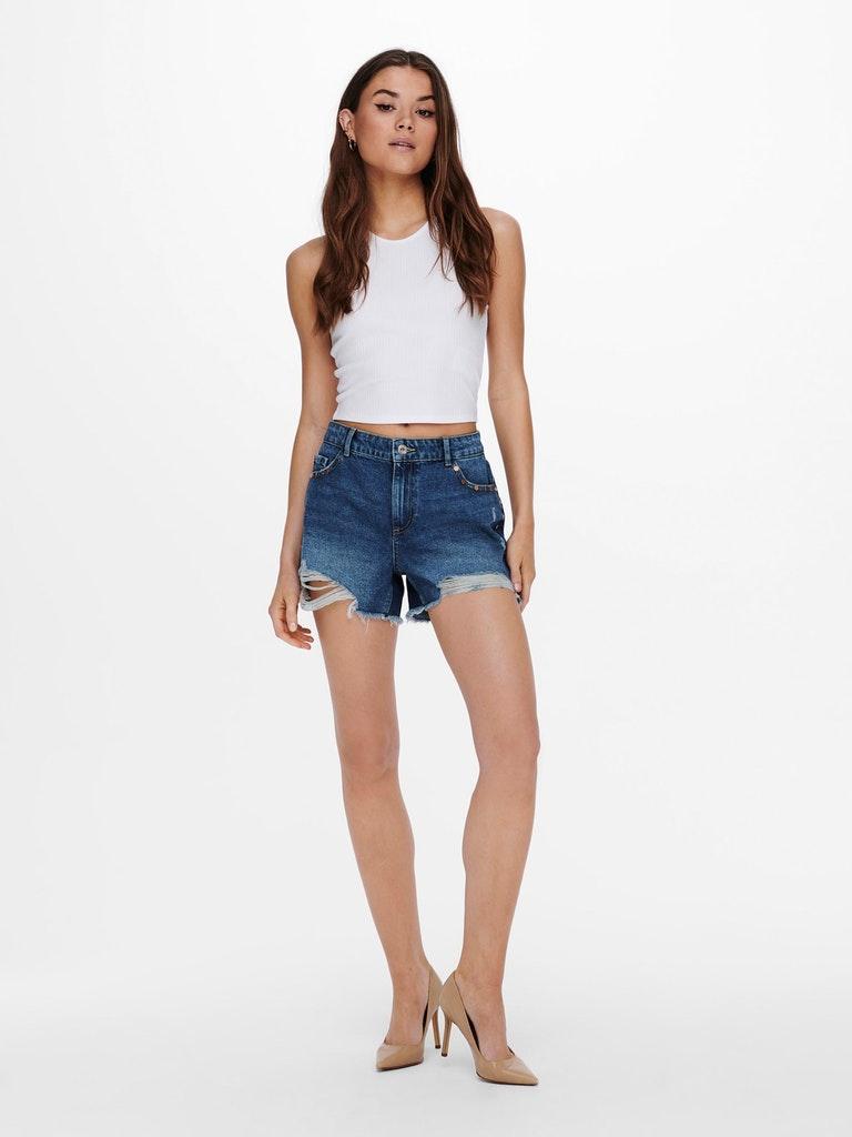 ONLSKY LIFE REG STUD DNM SHORTS PIM ONLY   Jeans   15226997MEDIUM BLUE DENIM