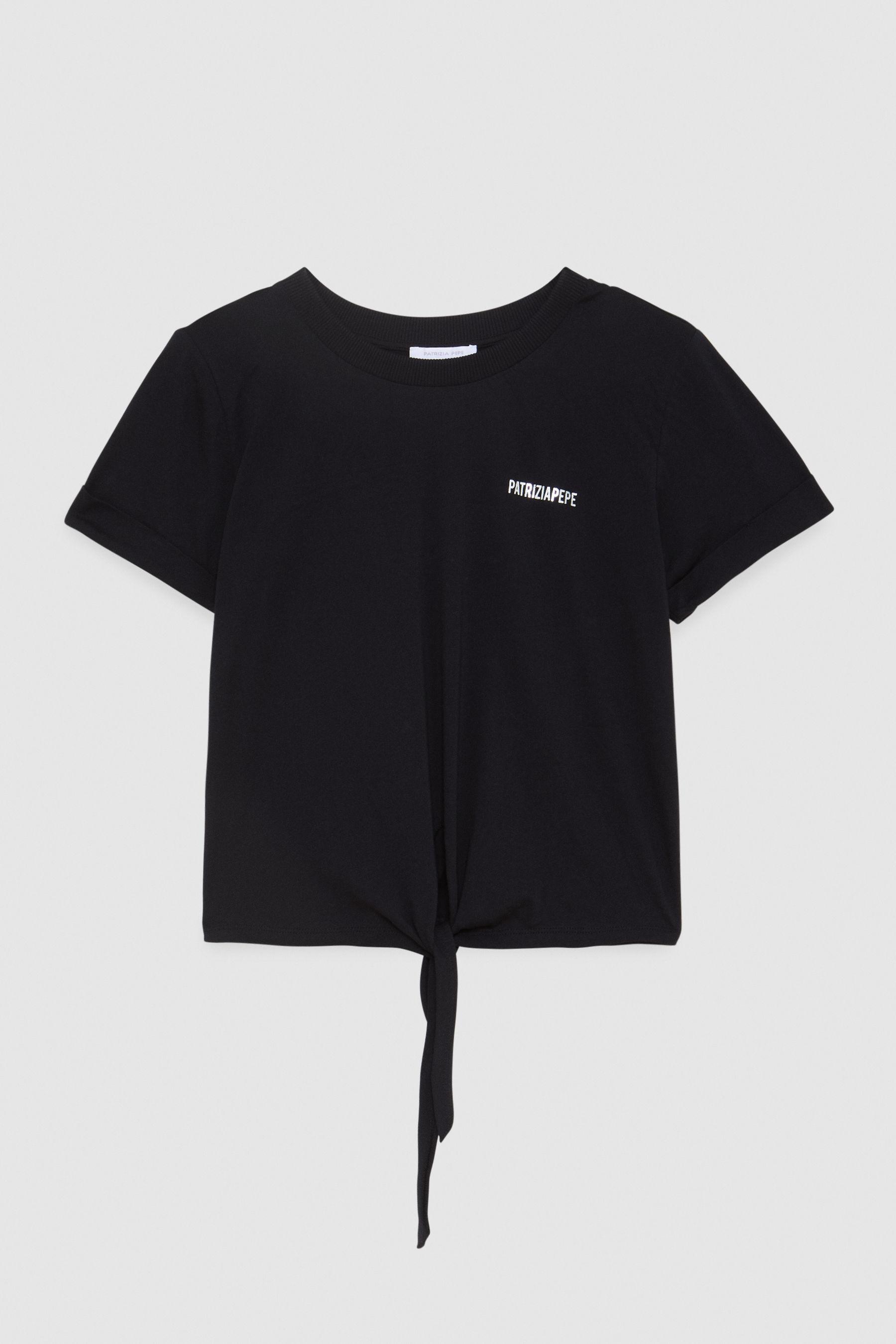 T-Shirt con spallini Patrizia Pepe PATRIZIA PEPE | Maglia | 2M4090-A9B3K103