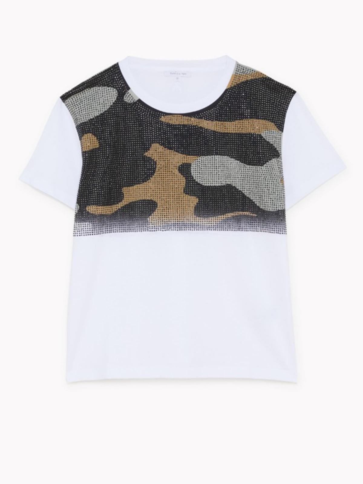 T-shirt con applicazioni Patrizia Pepe PATRIZIA PEPE | Maglia | 8M1167-A8T0W103