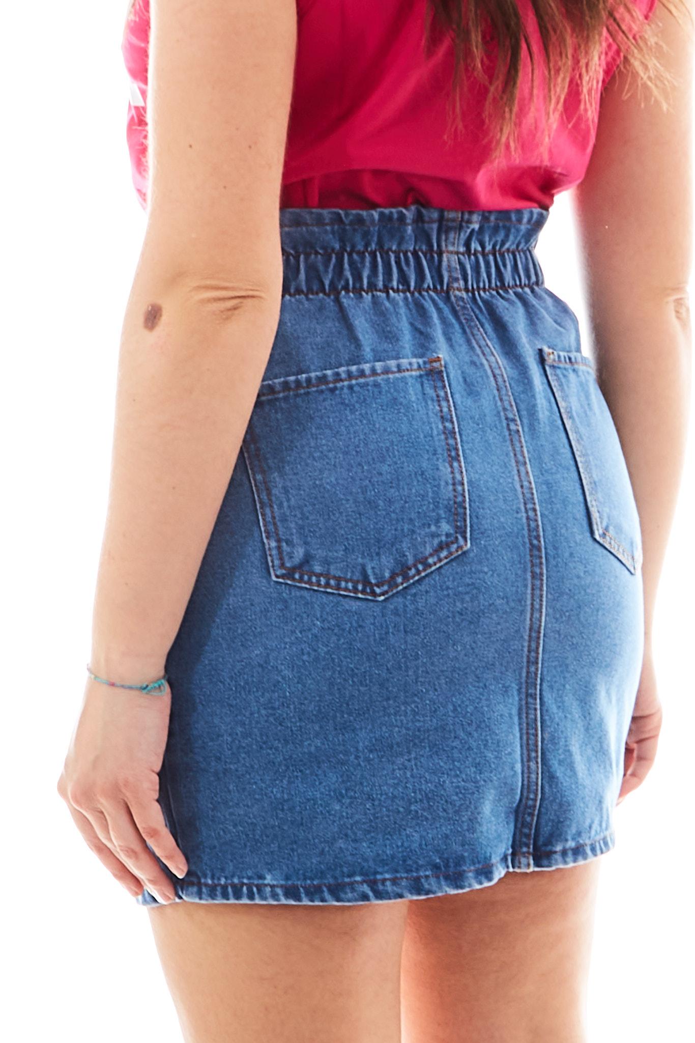 Caren skirt REVISE BLUE VIBES | Gonna | CARENDENIM