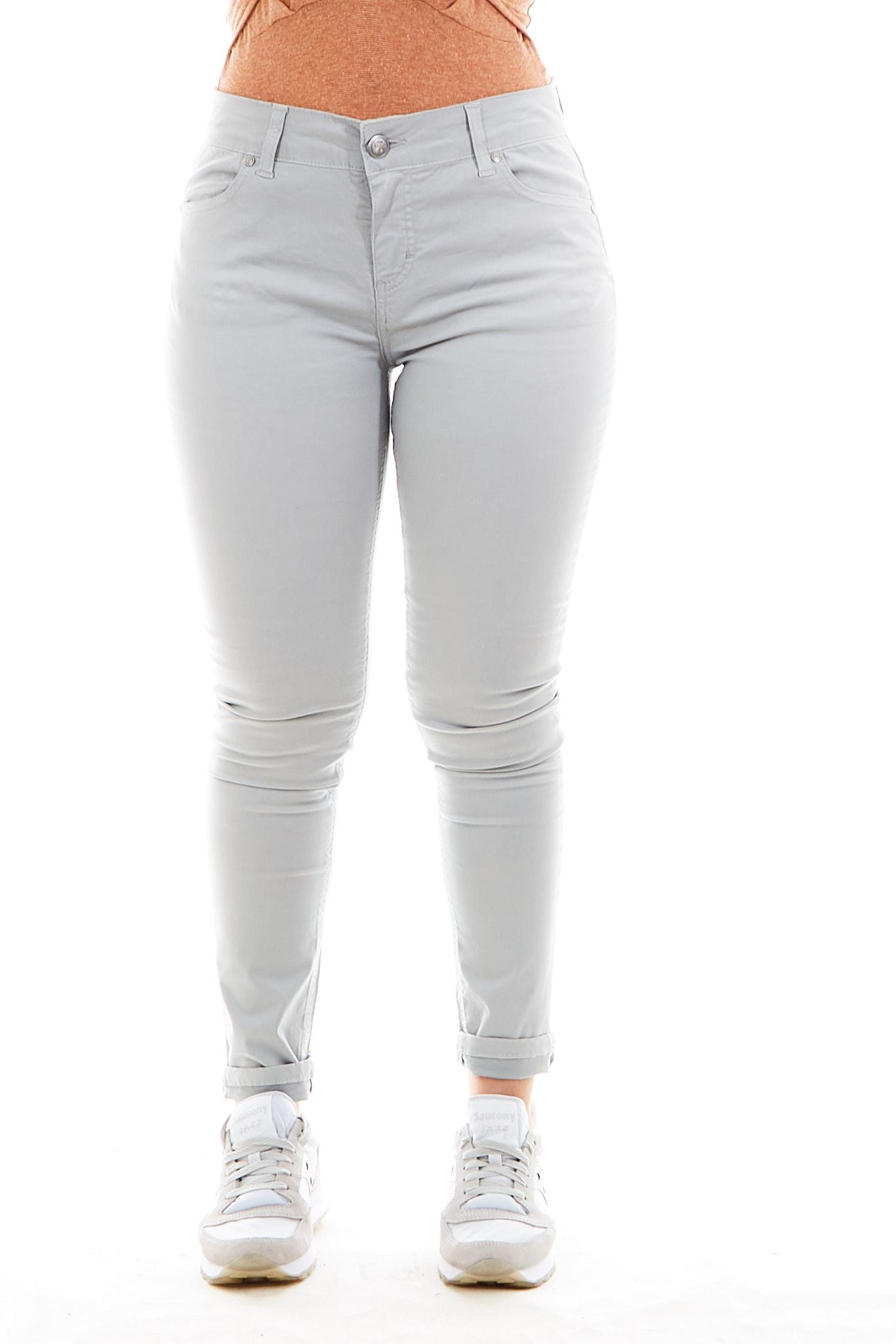 Pantaloni SETTE/MEZZO   Pantalone   E31-5TASCHEGRIGIO CHIARO