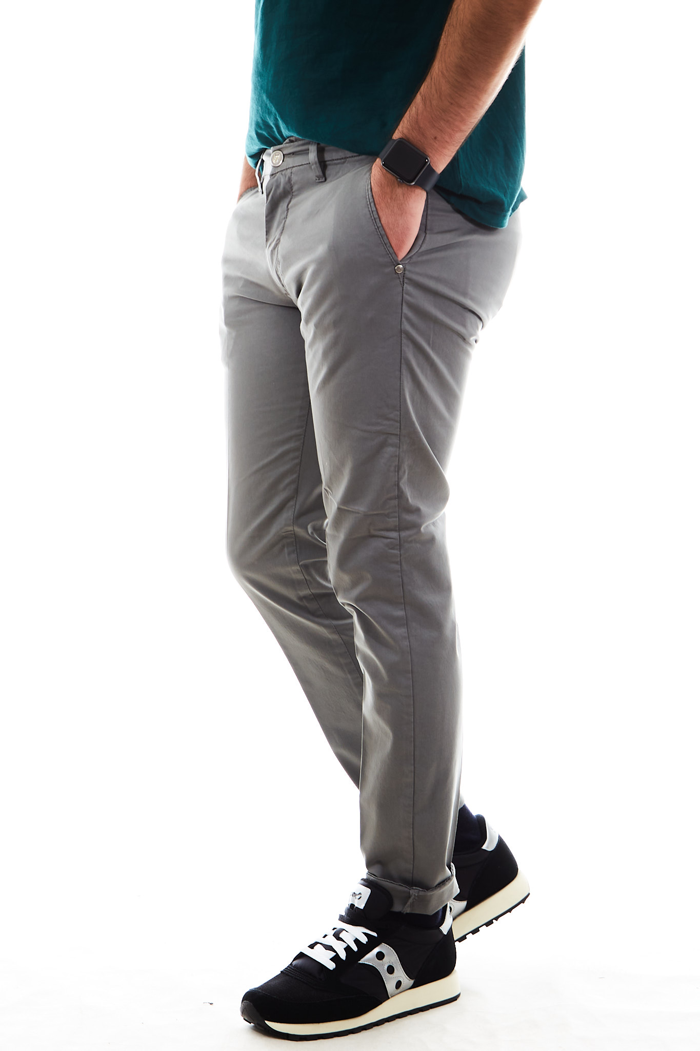 Pantaloni SETTE/MEZZO | Pantalone | E98/8136ANTRACITE