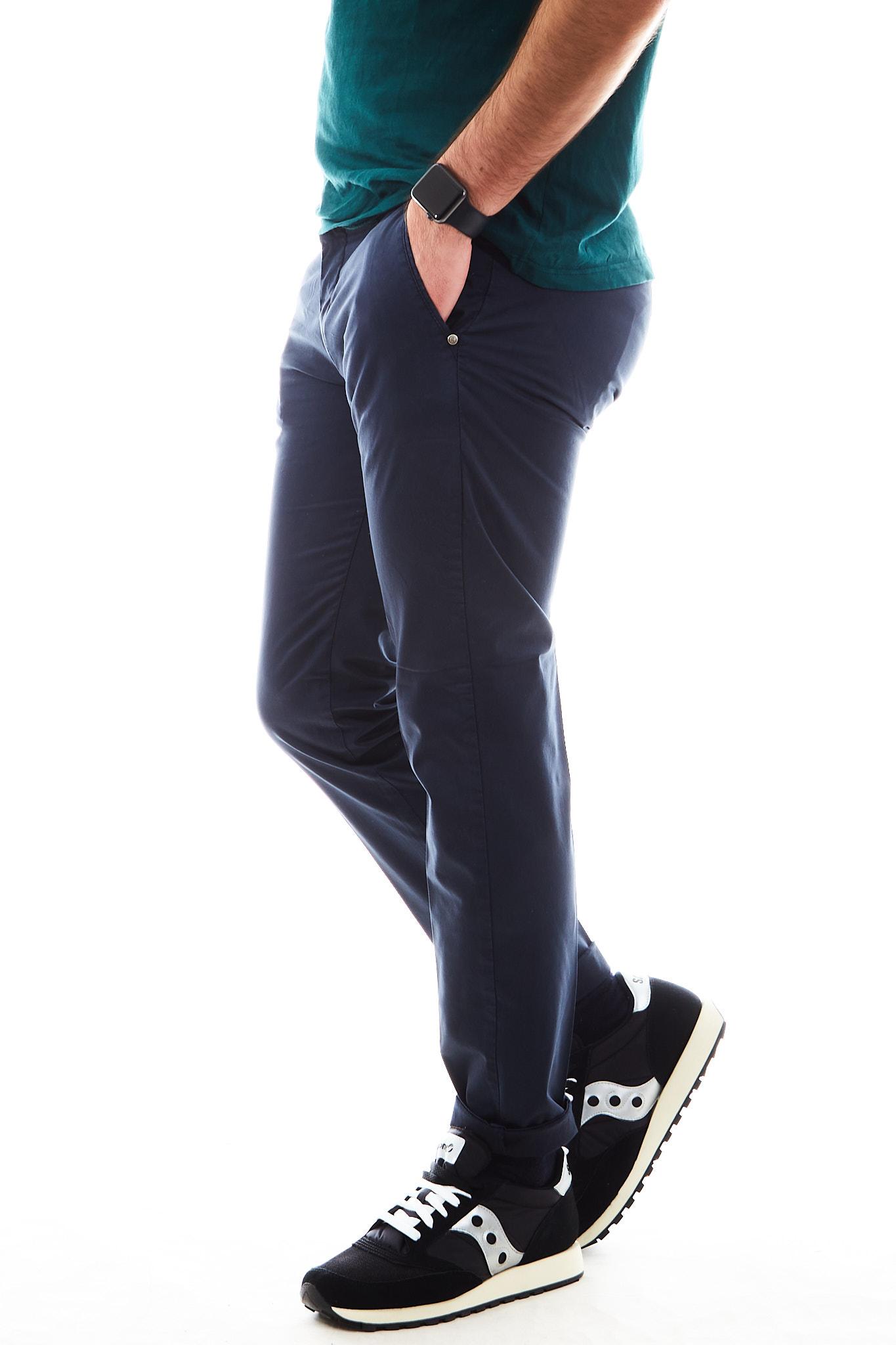 Pantaloni SETTE/MEZZO | Pantalone | E98/8136BLU
